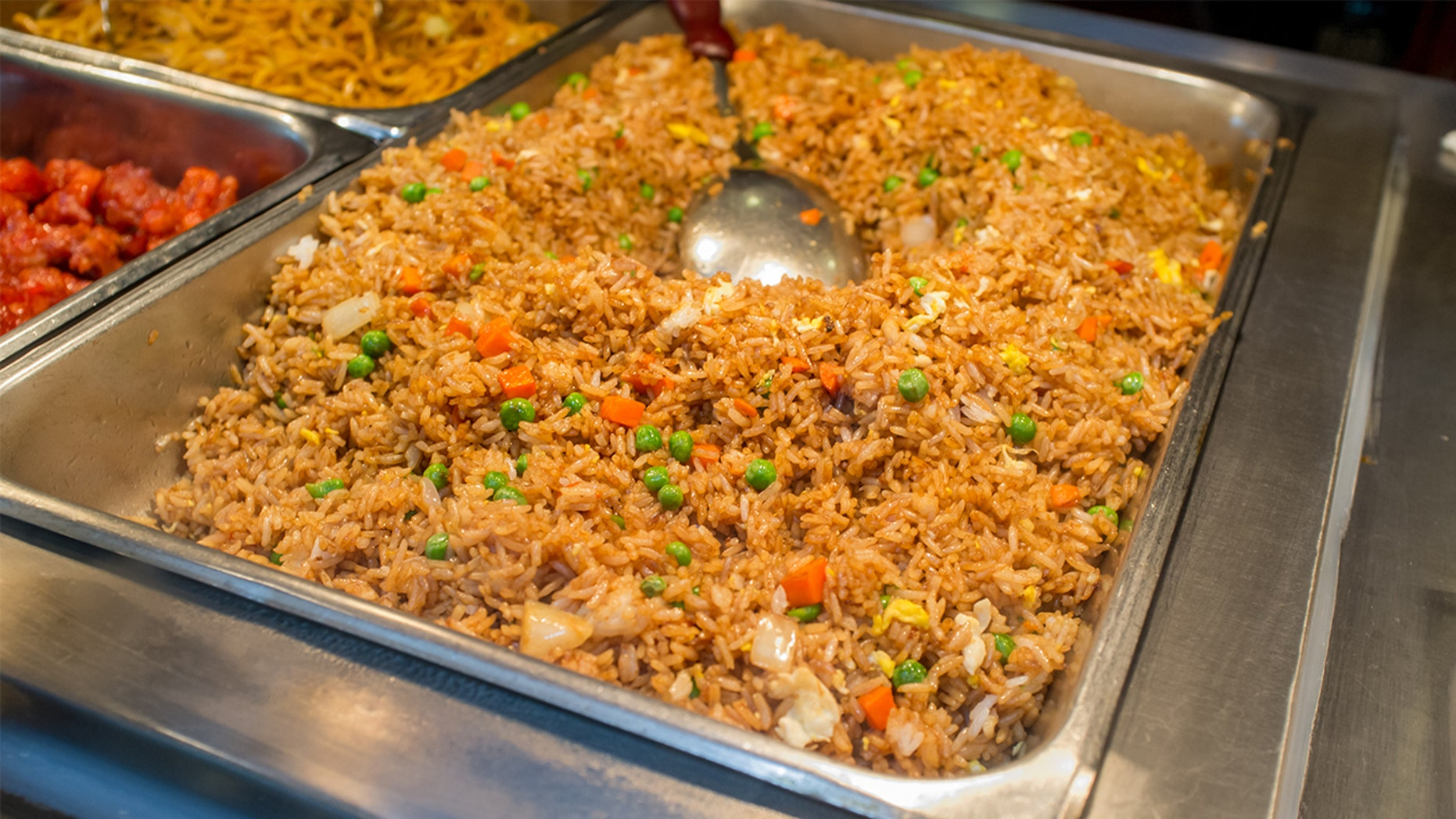 "A woman is suing a Chinese buffet in Texas after getting sick with what she claims was ""fried rice syndrome."""