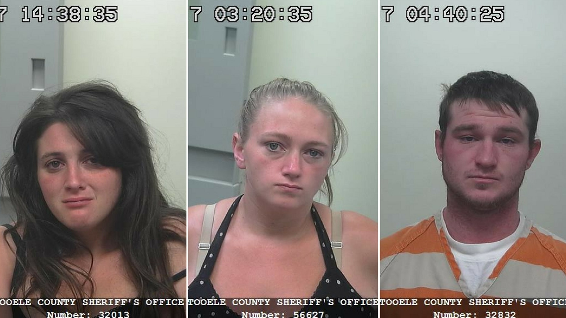 Lucinda Black, left, Ashley Black and Danie Black were arrested after a toddler drank meth-laced soda, cops said.