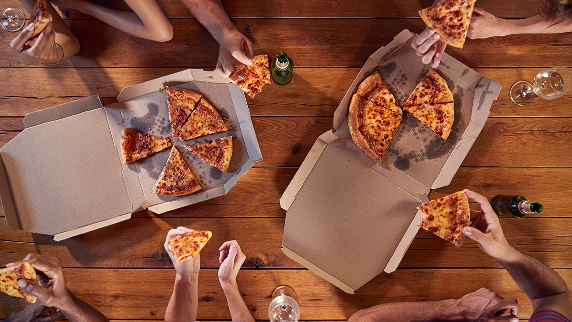 It's National Pizza Day, so head to one of these locations and celebrate with any of these great deals.