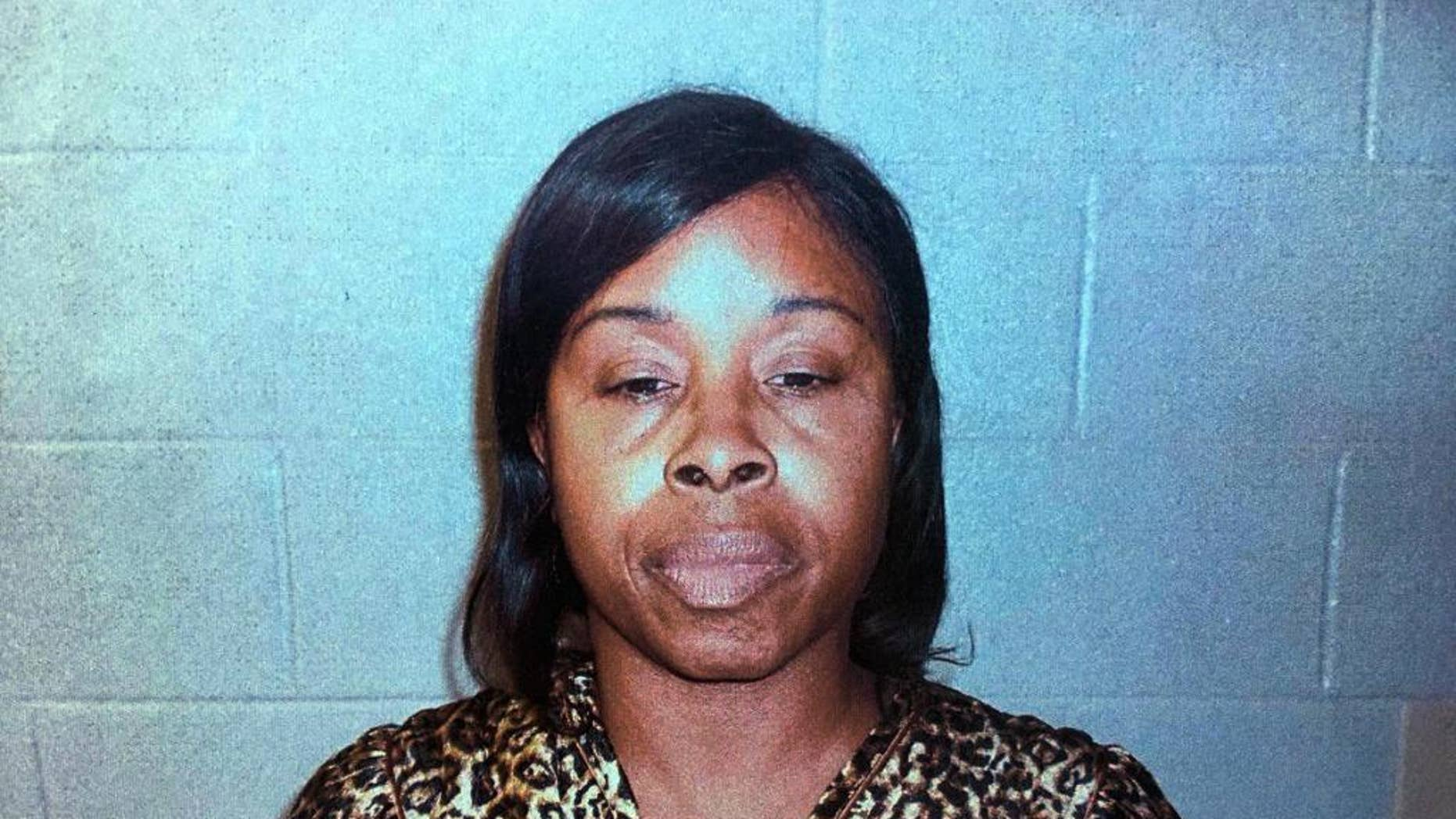 This Friday, Jan. 13, 2017 arrest photo made available by the Jacksonville Sheriff's Office via the Colleton County Sheriff's Office shows Gloria Williams, under arrest in Walterboro, SC. Williams is a suspect in the kidnapping of a baby girl in Jacksonville, Fla., 18 years ago. (Jacksonville Sheriff's Office via Colleton Sheriff's Office via AP)
