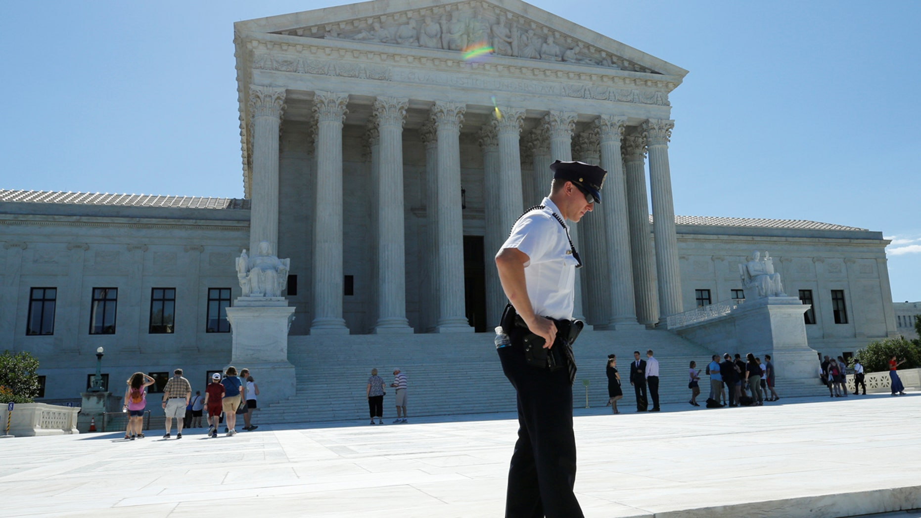 The Supreme Court on Tuesday allowed the administration to maintain its policy on refugees.