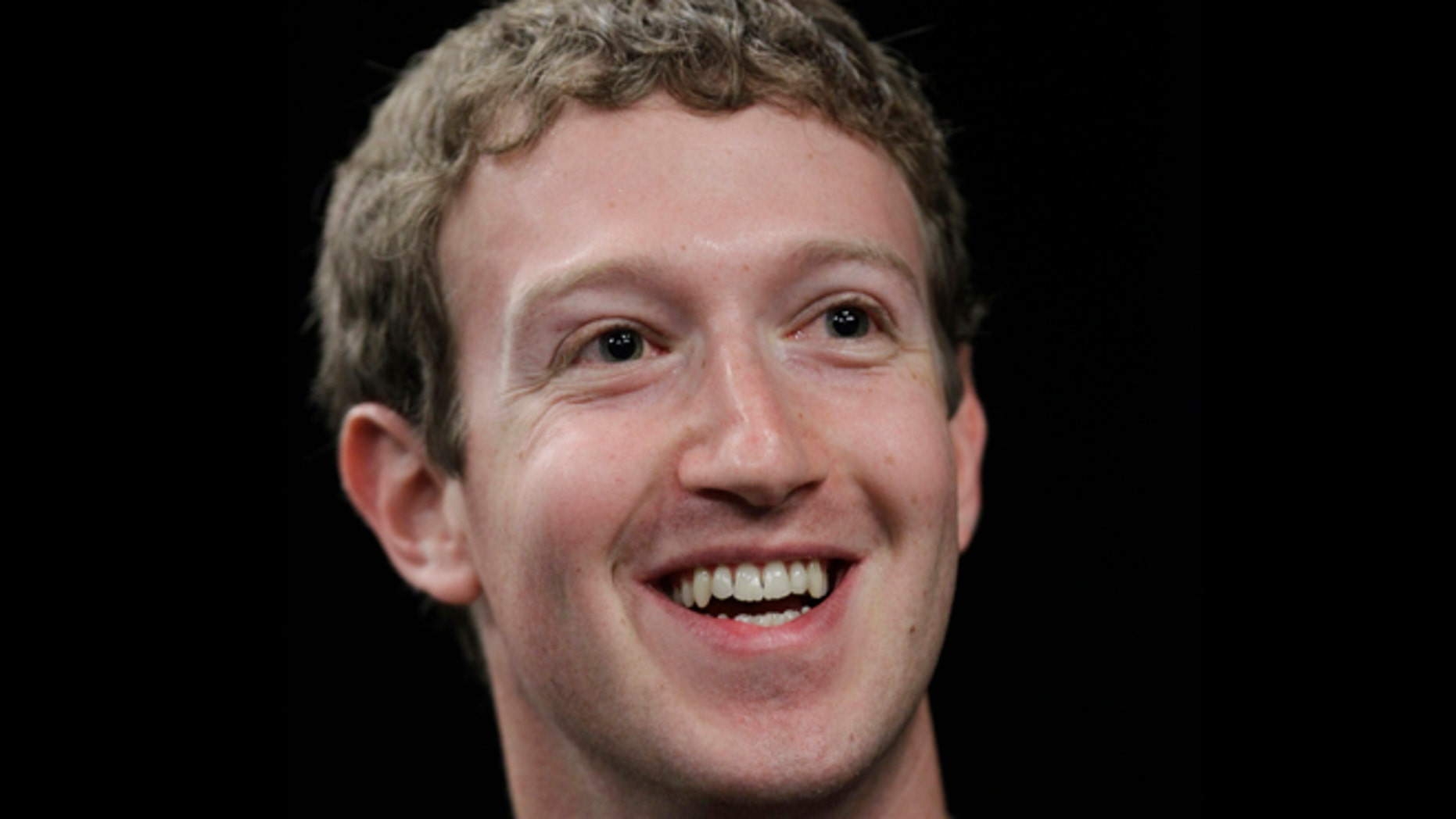 File: Facebook CEO Mark Zuckerberg at a news conference in San Francisco, Calif.