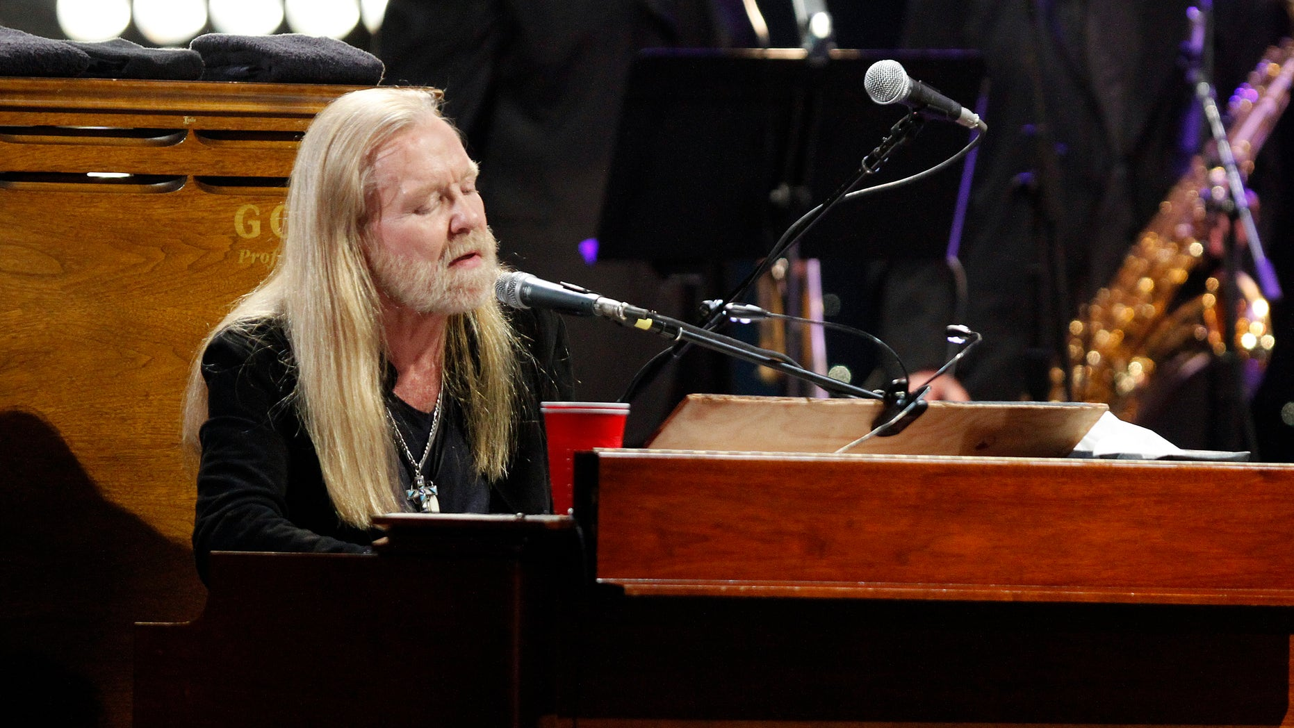 January 10, 2014. Gregg Allman performed at All My Friends: Celebrating The Songs and Voice of Gregg Allman in Atlanta, Ga.