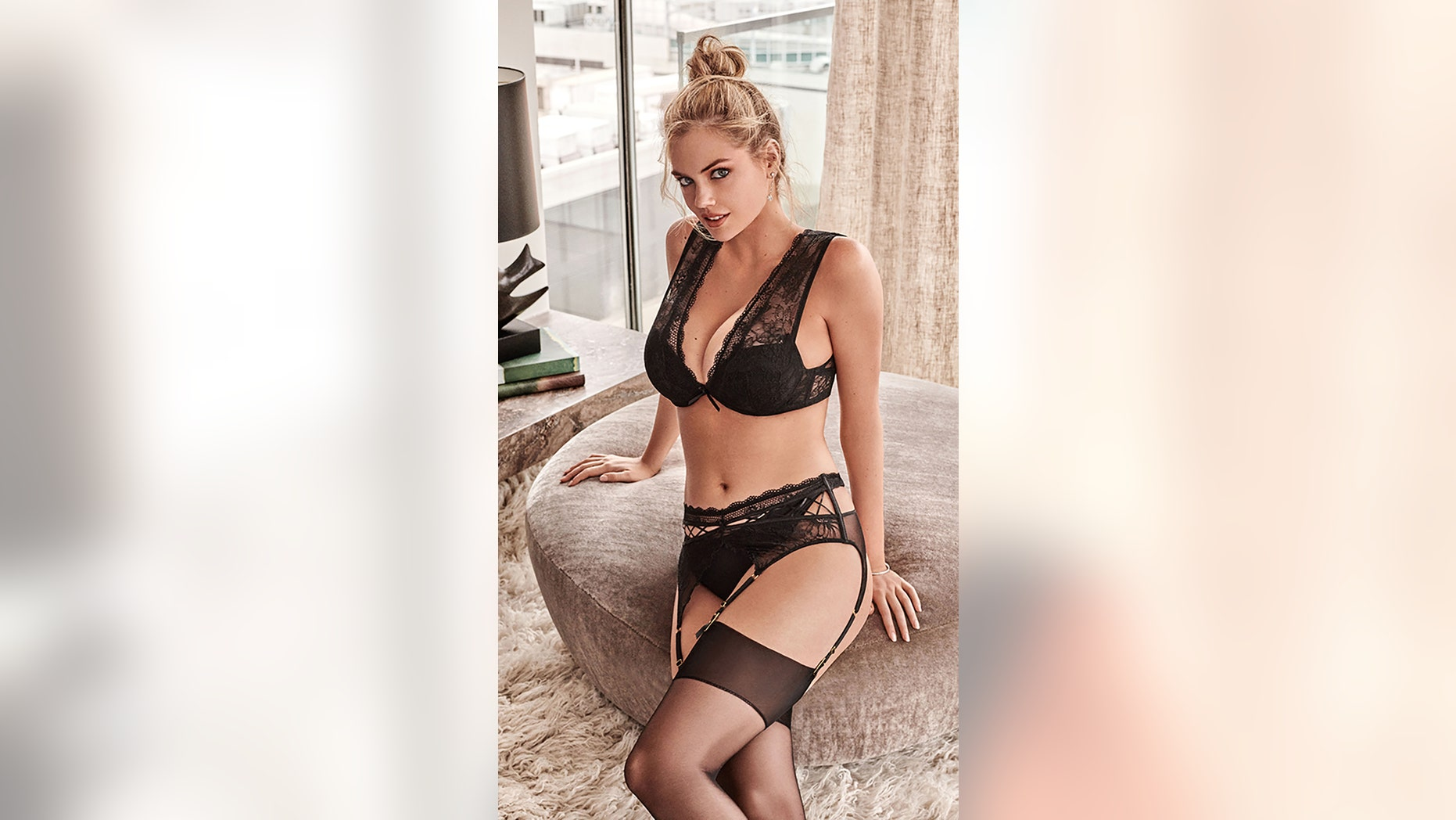 9aa827996455e Sports Illustrated Swimsuit model Kate Upton stuns wearing the Autumn 2018  collection from Yamamay.