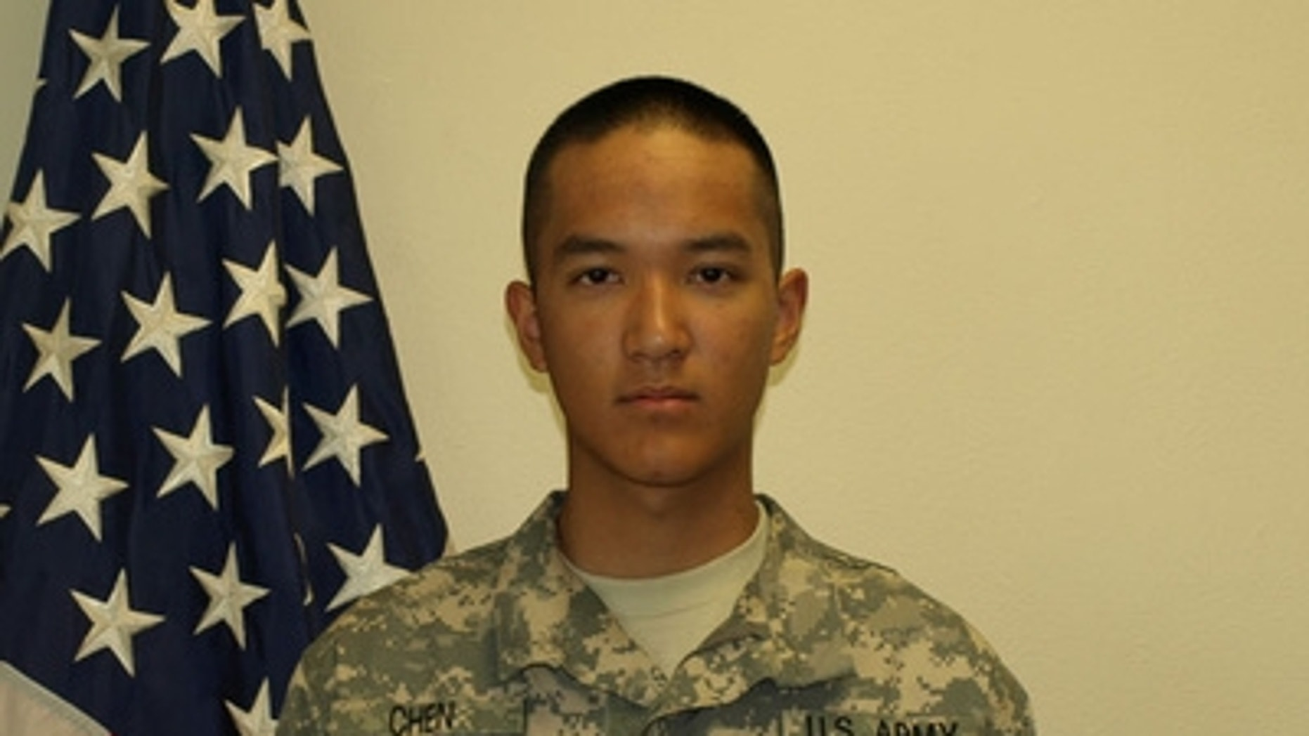 This undated photo, obtained by Fox affiliate WNYW-TV, shows 19-year-old Pvt. Danny Chen.