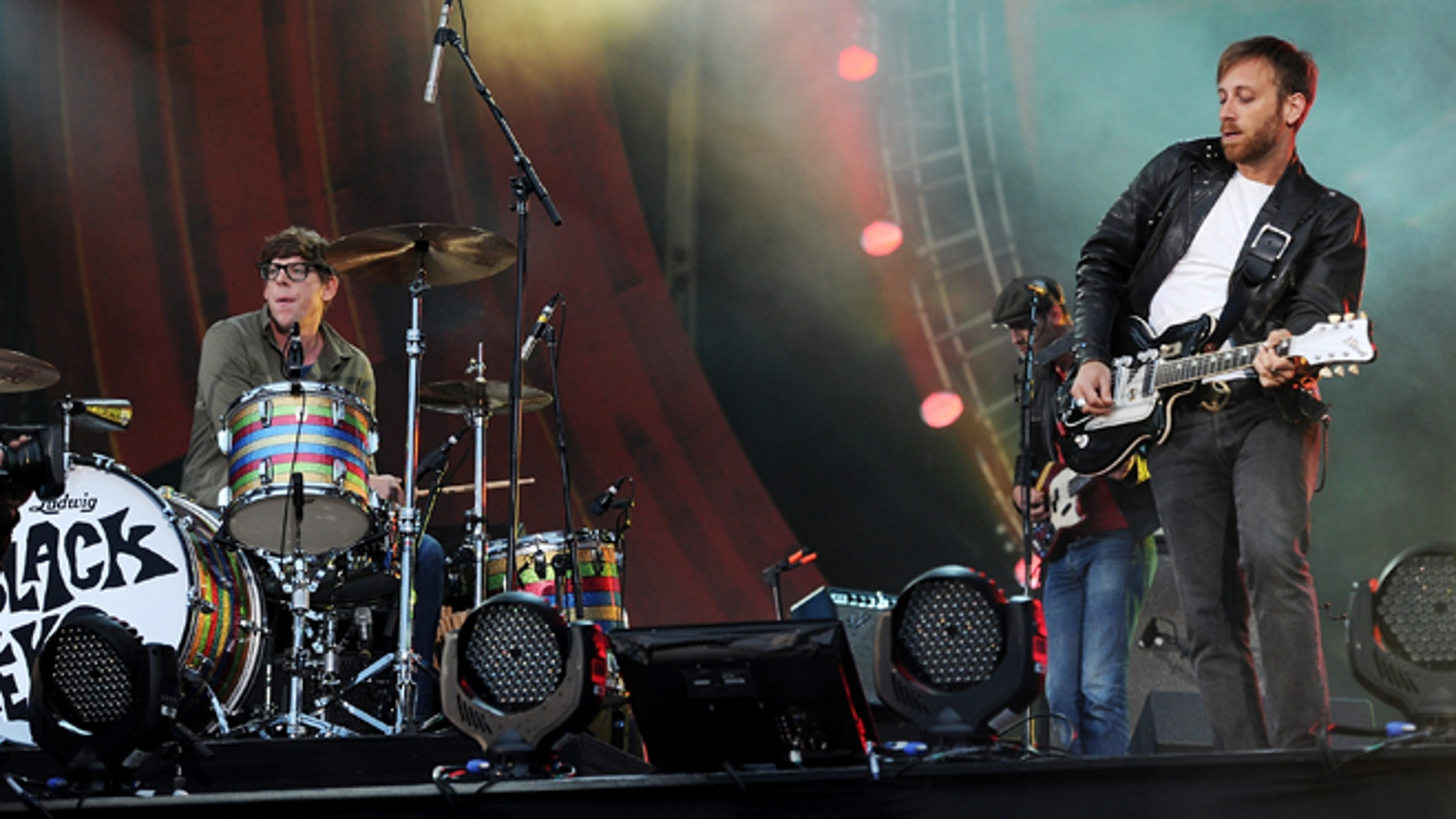 Sept. 29, 2012: Guitarist Dan Auerbach, right, and drummer Patrick Carney of The Black Keys perform at the Global Citizen Festival in Central Park.