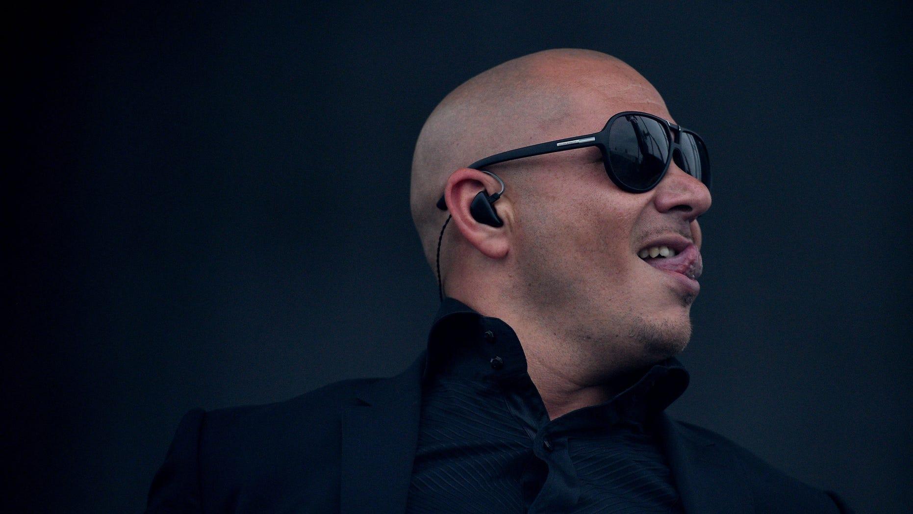 Rapper Armando 'Pitbul' Perez on May 18, 2013 in Baltimore, Maryland.