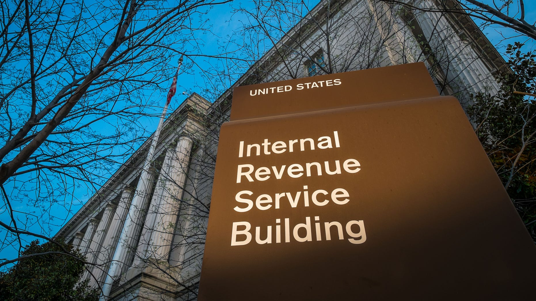 April 13, 2014: The headquarters of the Internal Revenue Service (IRS) in Washington.
