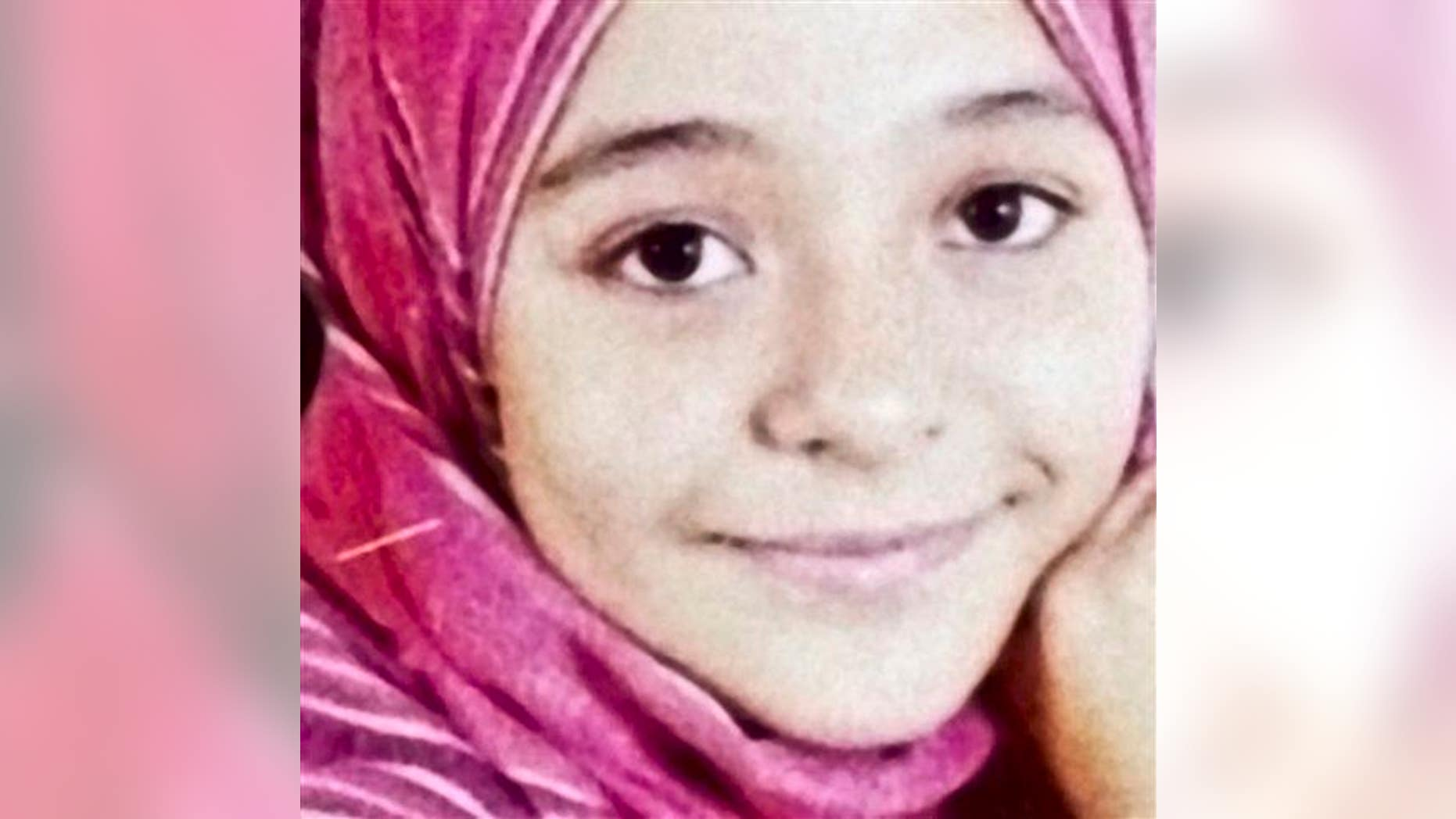 This undated file photo shows a portrait of Sohair el-Batea, who died last year after undergoing a female genital mutilation operation by Dr. Raslan Fadl, in Egypt.