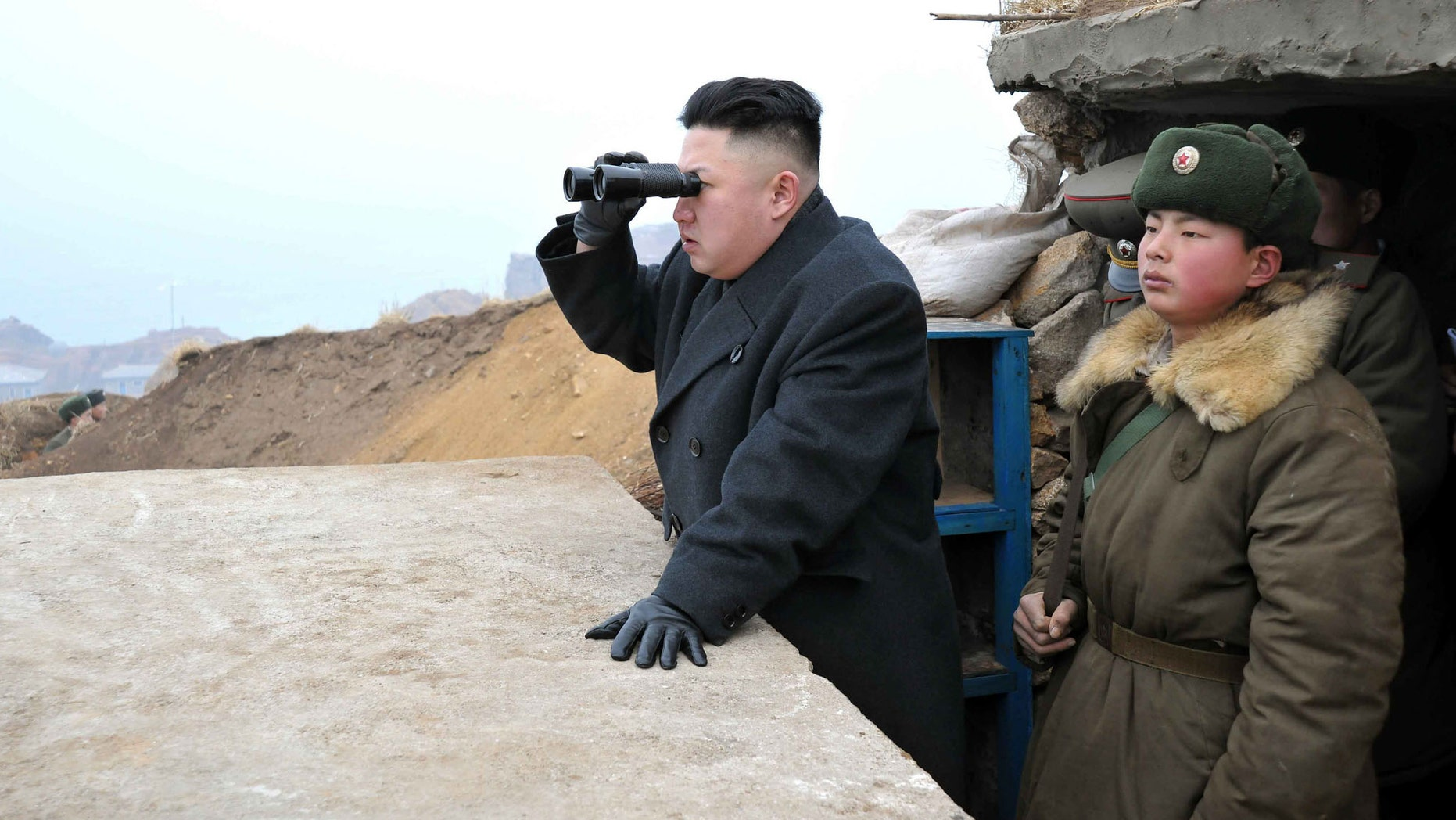 The 33-year-old dictator told his countrymen in January that North Korea is close to possessing the ability to strike around the world.