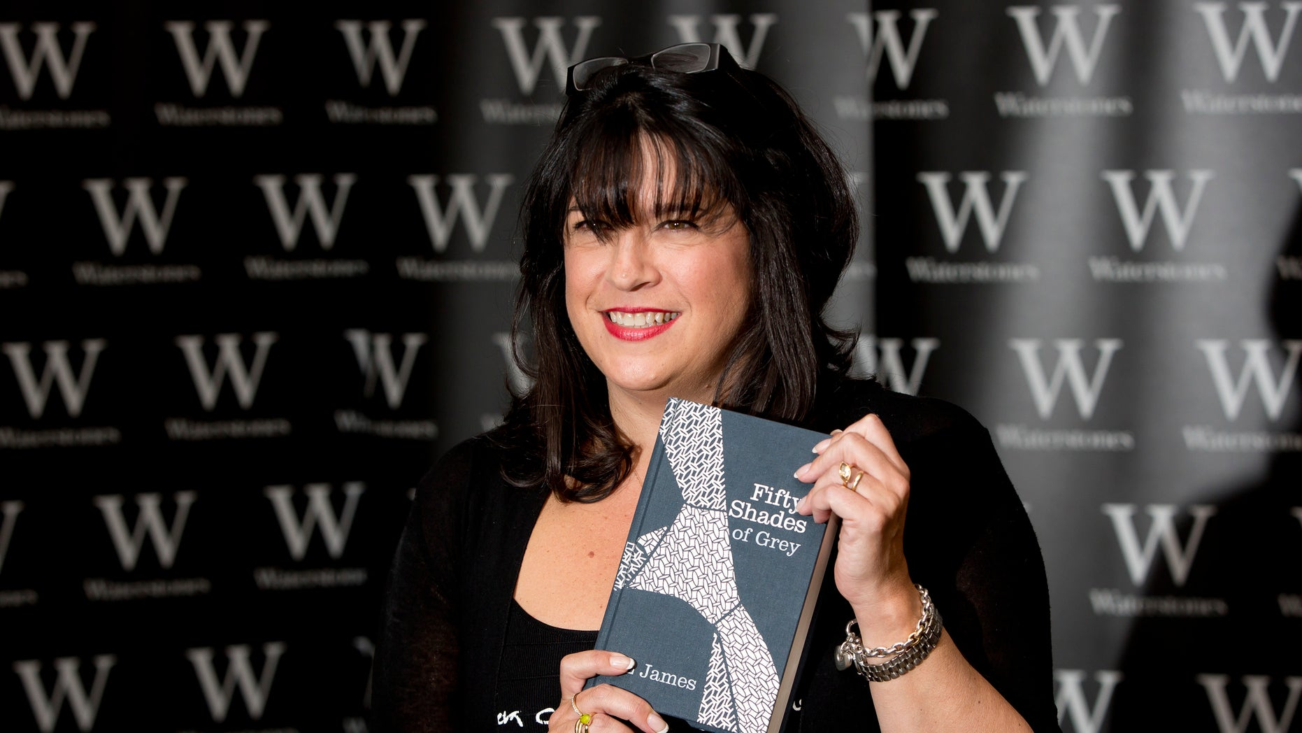Sept. 6, 2012: E L James, author of Fifty Shades of Grey, poses for photographers during a book signing in London.