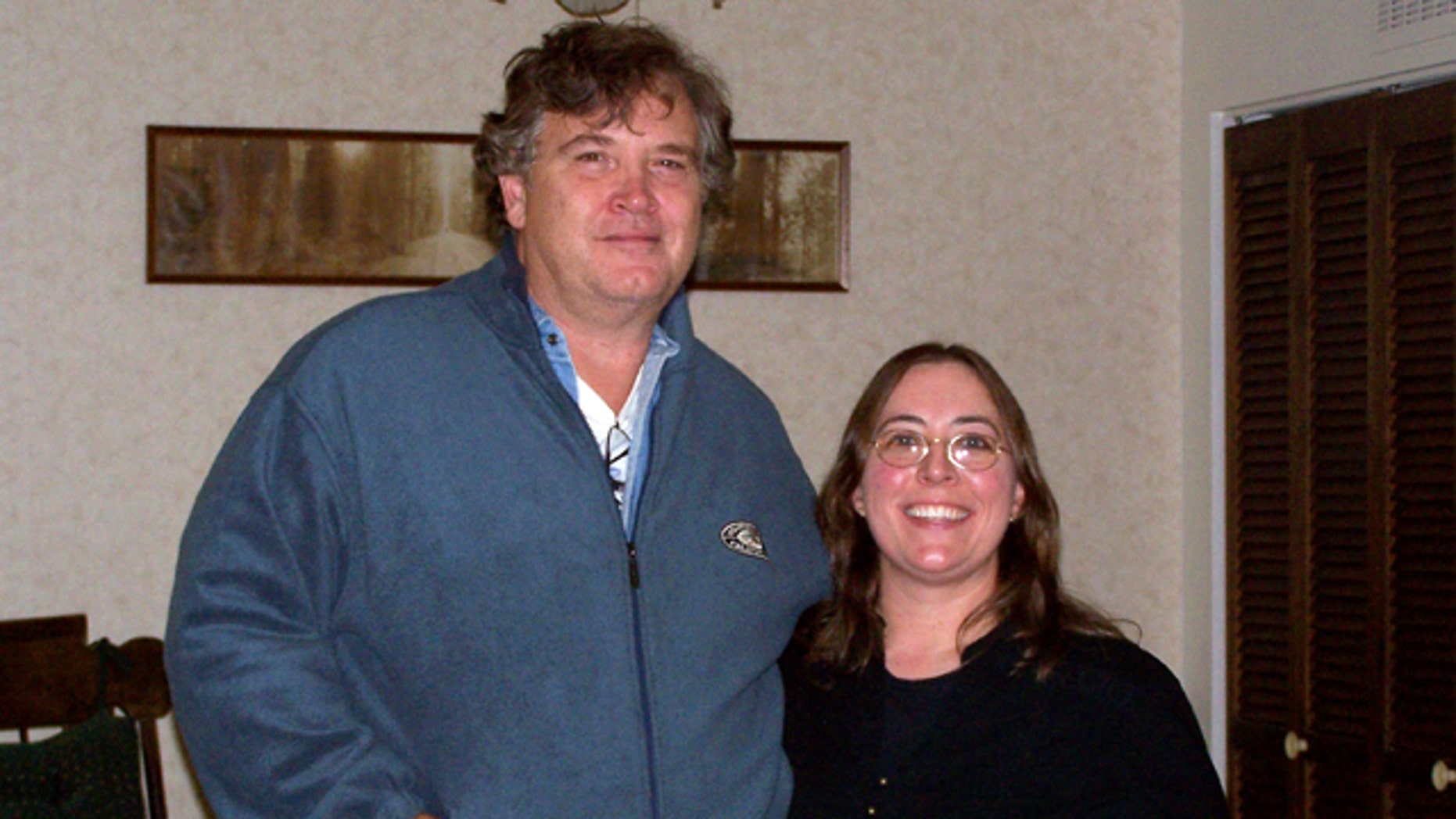 Nov. 30, 2012: This undated photo provided by Casper College shows professors Jim Krumm and Heidi Arnold, the couple killed by Krumm's adult son Chris Krumm.