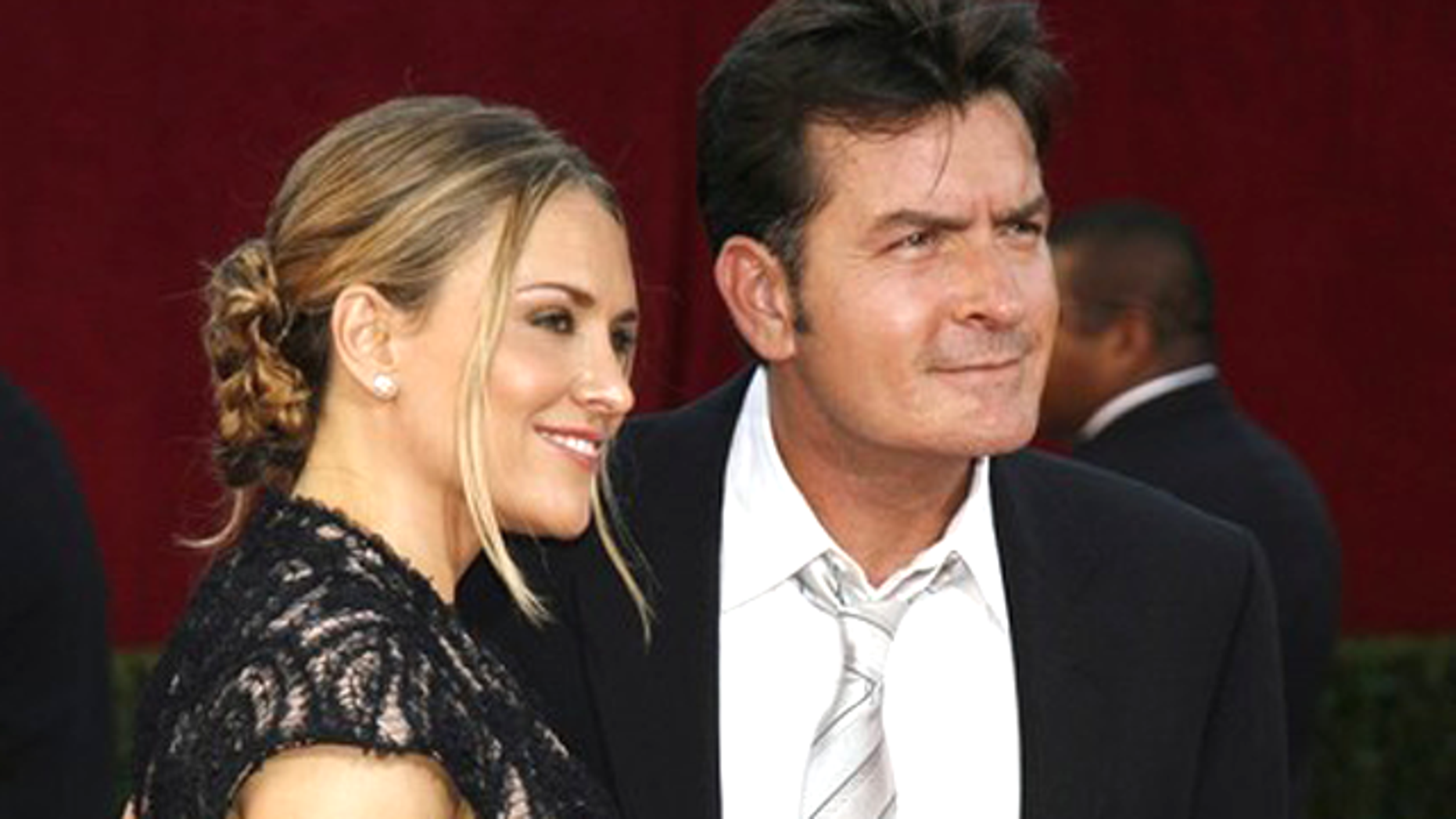 Charlie Sheen and Brooke Mueller in happier times.