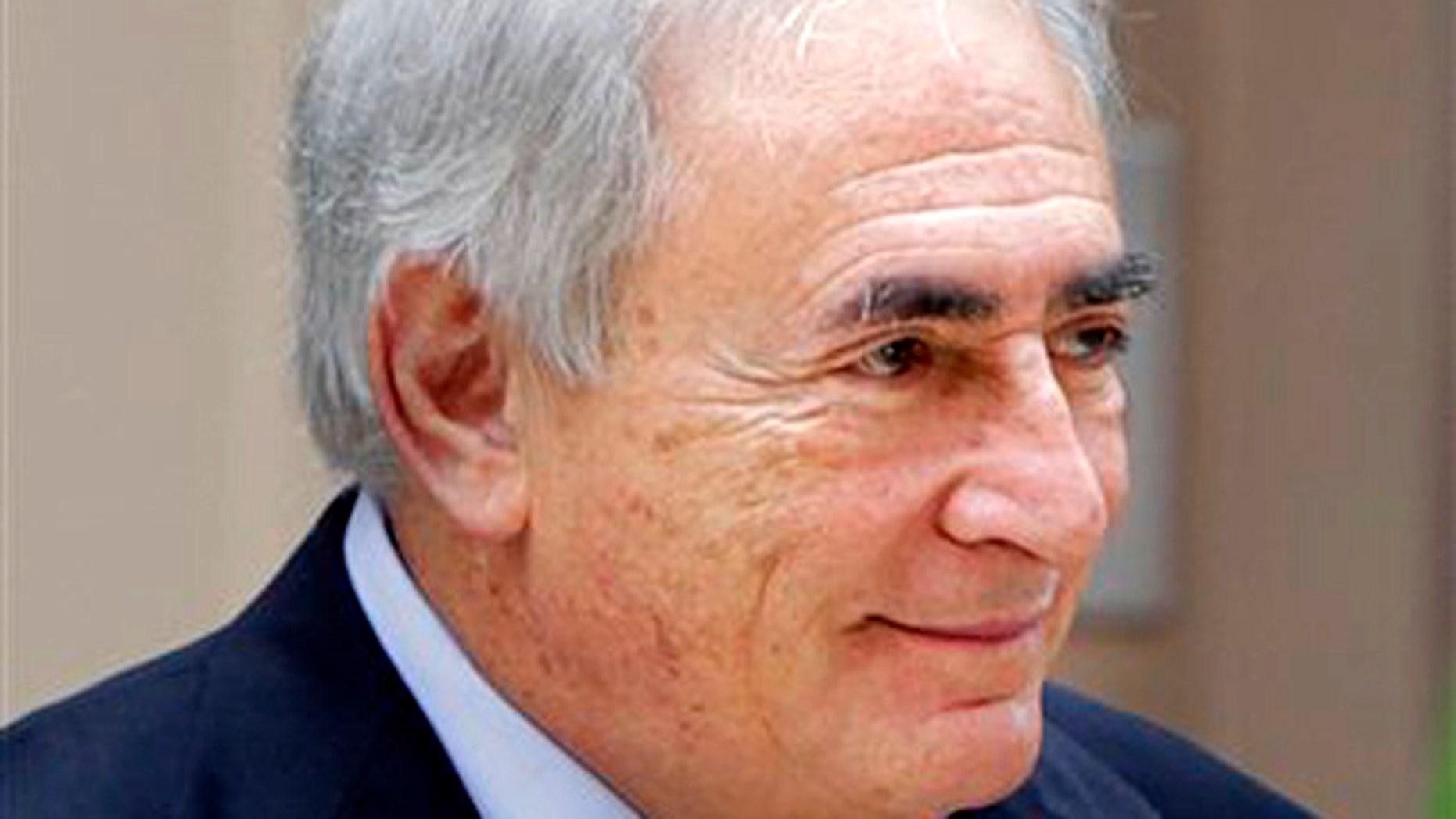 Former IMF head Dominique Strauss-Kahn