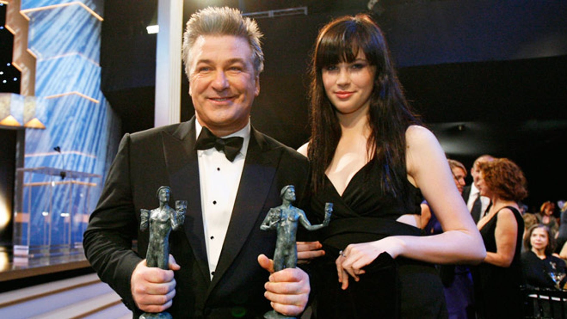 Alec and Ireland Baldwin in 2009.