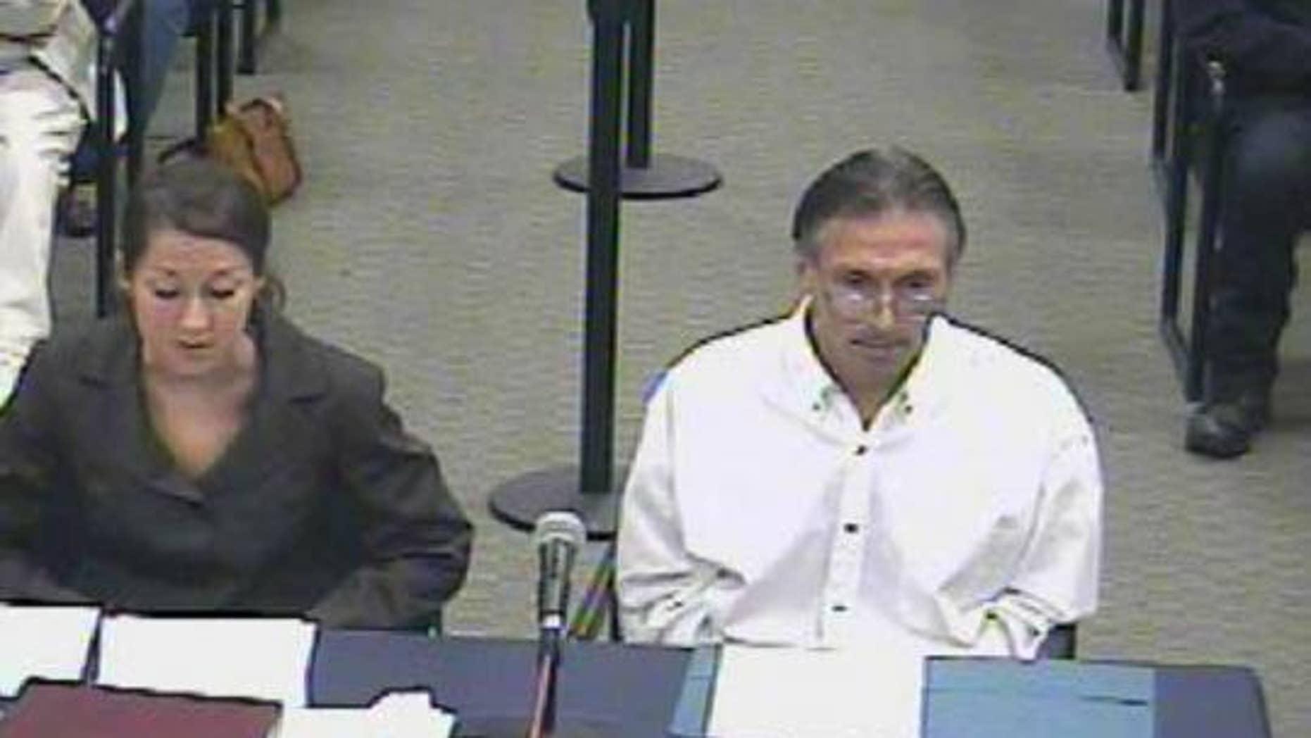 Oct. 2008: Dominic Cinelli tells Massachusetts Parole Board he's a changed man.
