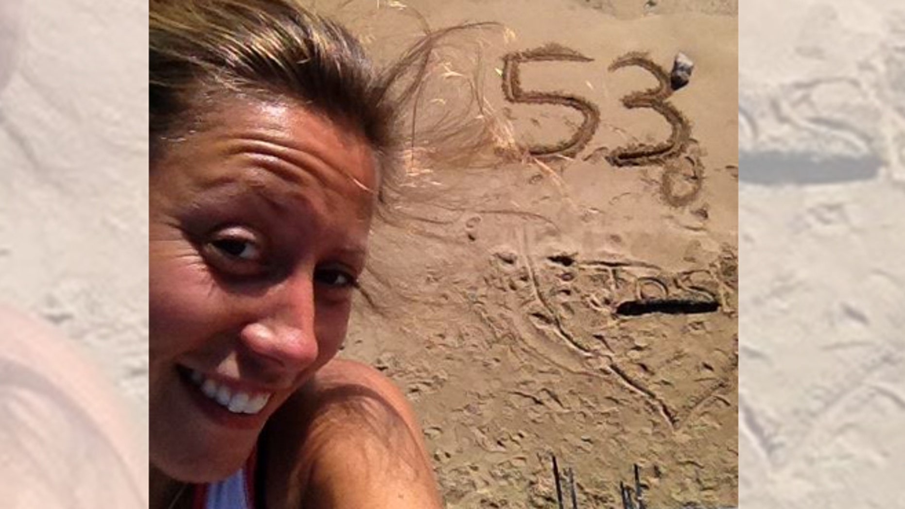 Amy Hughes, 26, set the new world record running 53 marathons in 53 consecutive days.  (Facebook)