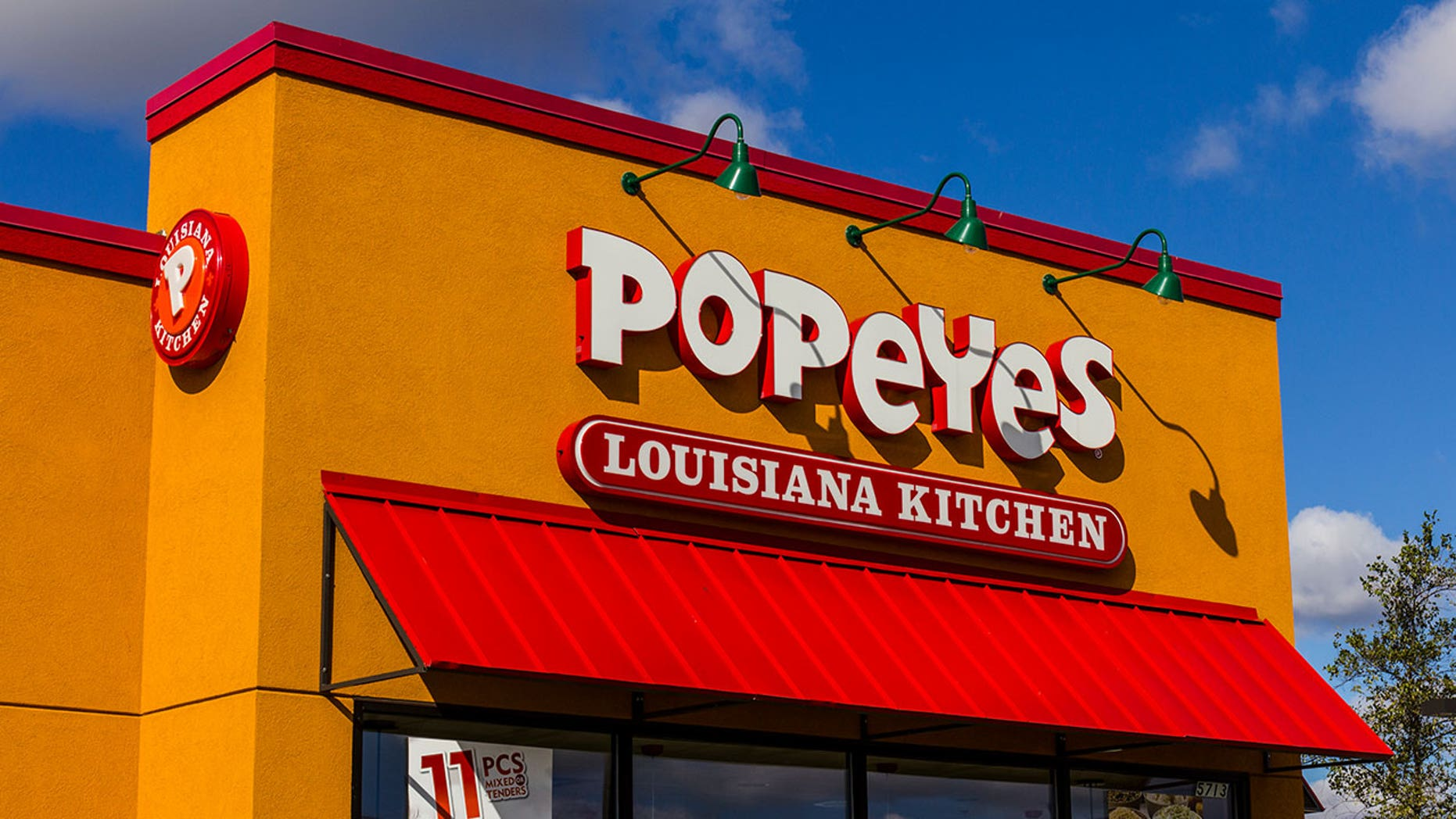 Popeyes' newest chicken tenders are battered in cookie dough