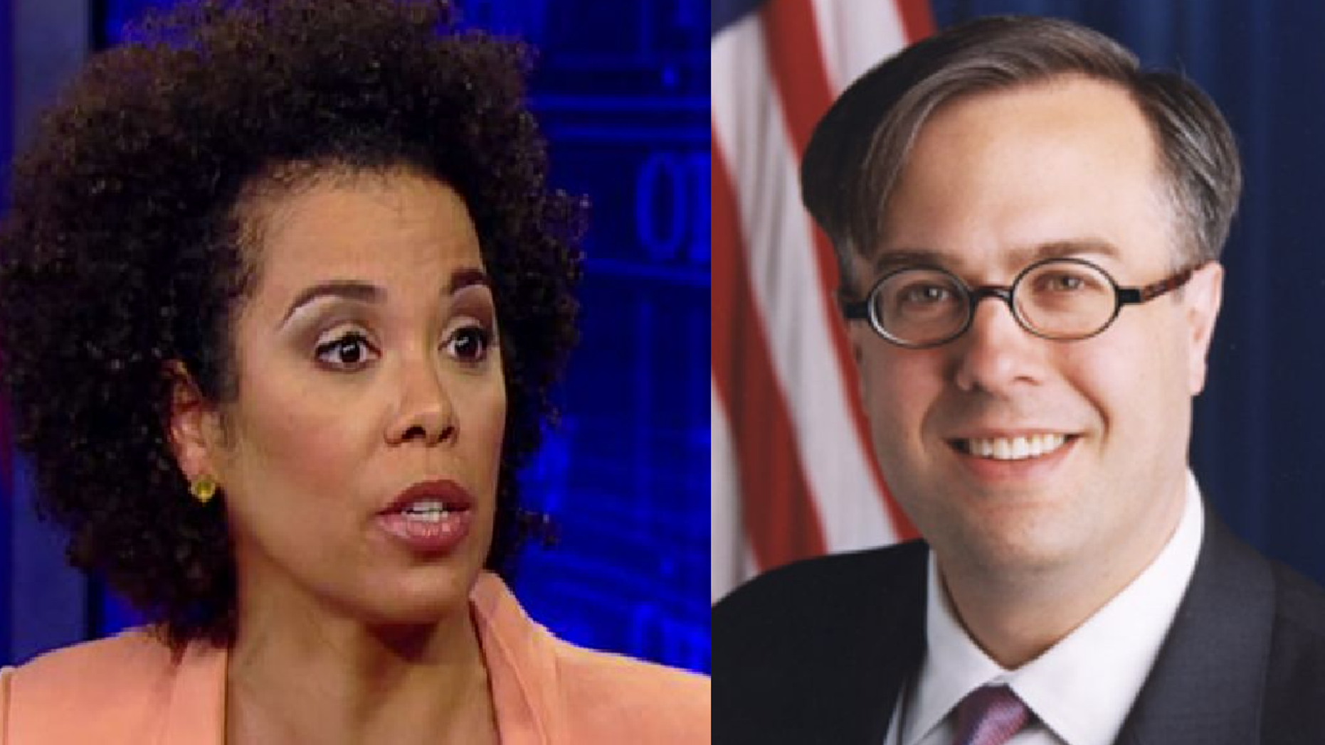 """Amy Holmes and Michael Gerson will co-host """"In Principle,"""" which PBS says will be a conservative-oriented talk show."""