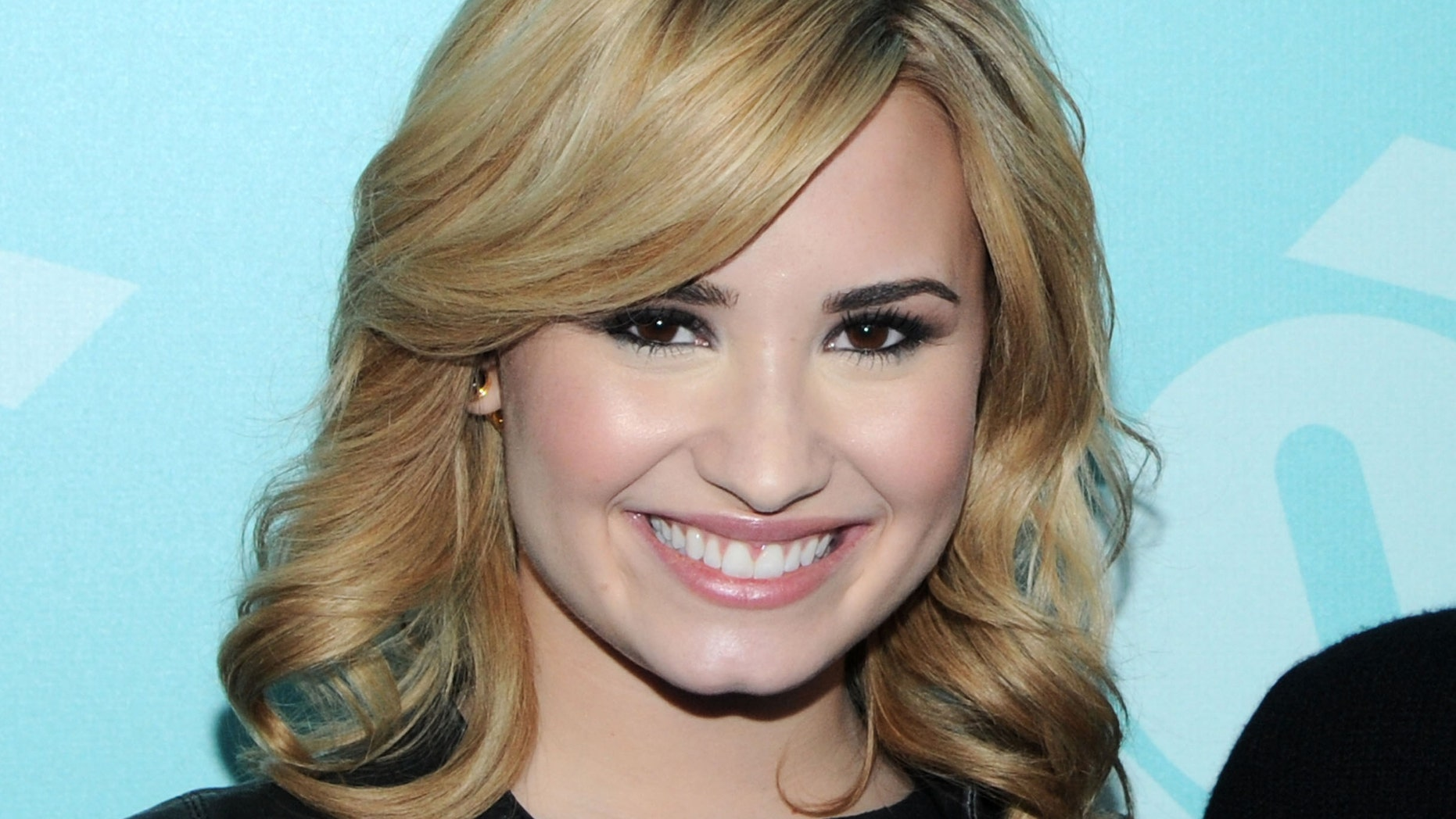 Demi Lovato attends FOX 2103 Programming Presentation Post-Party at Wollman Rink - Central Park on May 13, 2013 in New York City.