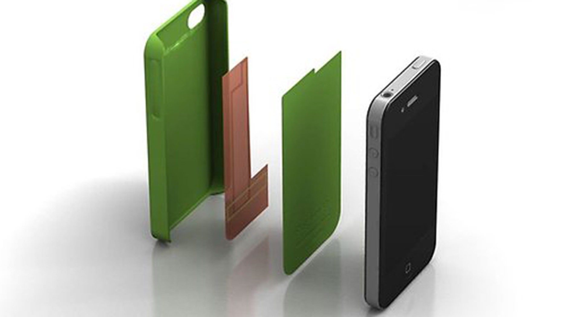 The Pong case has been shown to reduce cellphone radiation by up to 95 percent, the company says.