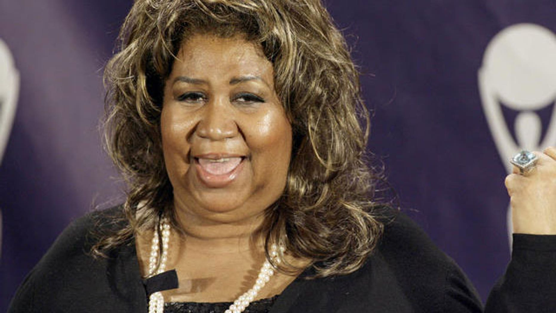 Aretha Franklin has canceled all appearances through May after hospitalization.