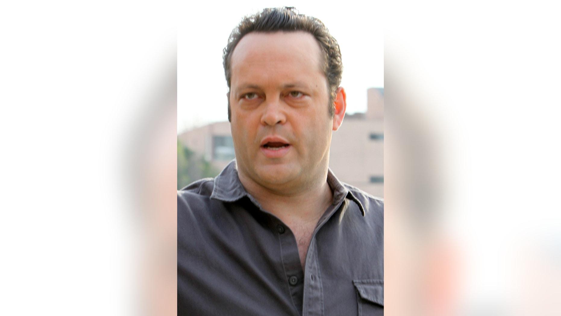 FILE -- Actor/producer/screenwriter Vince Vaughn (Associated Press)