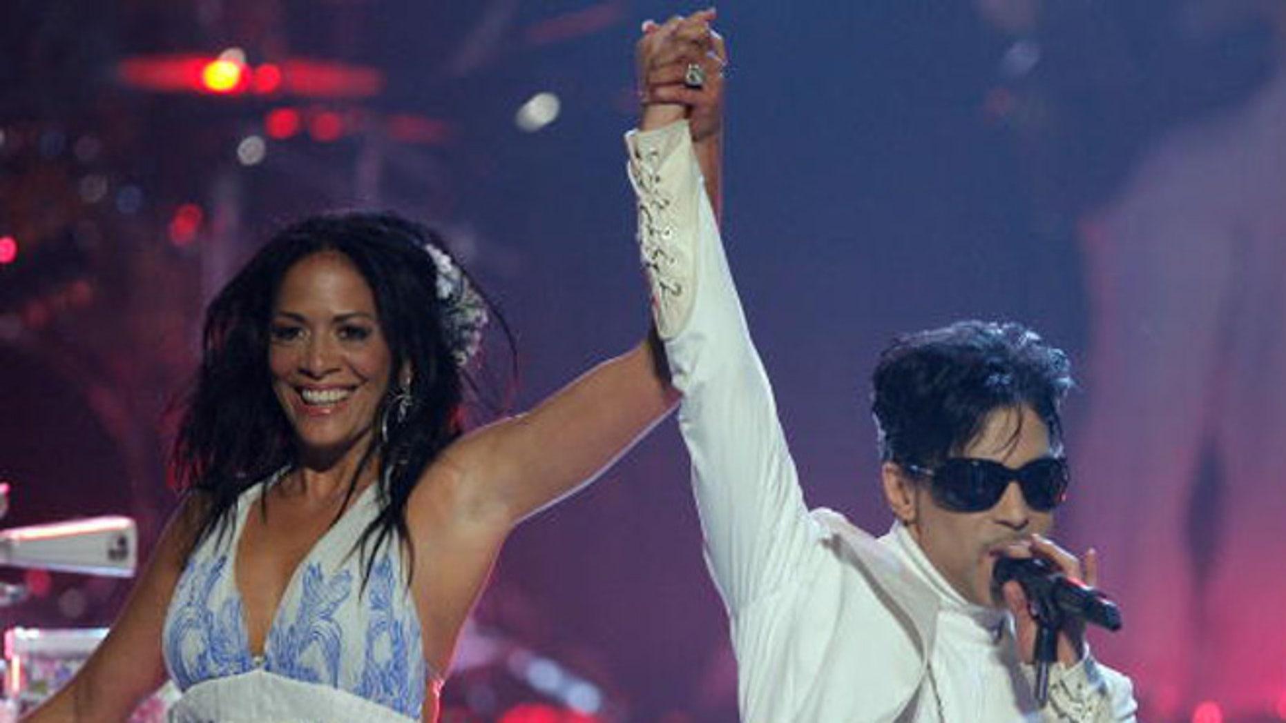 Sheila E. and Prince during the NCLR ALMA Awards on June 1, 2007 in Pasadena, California.