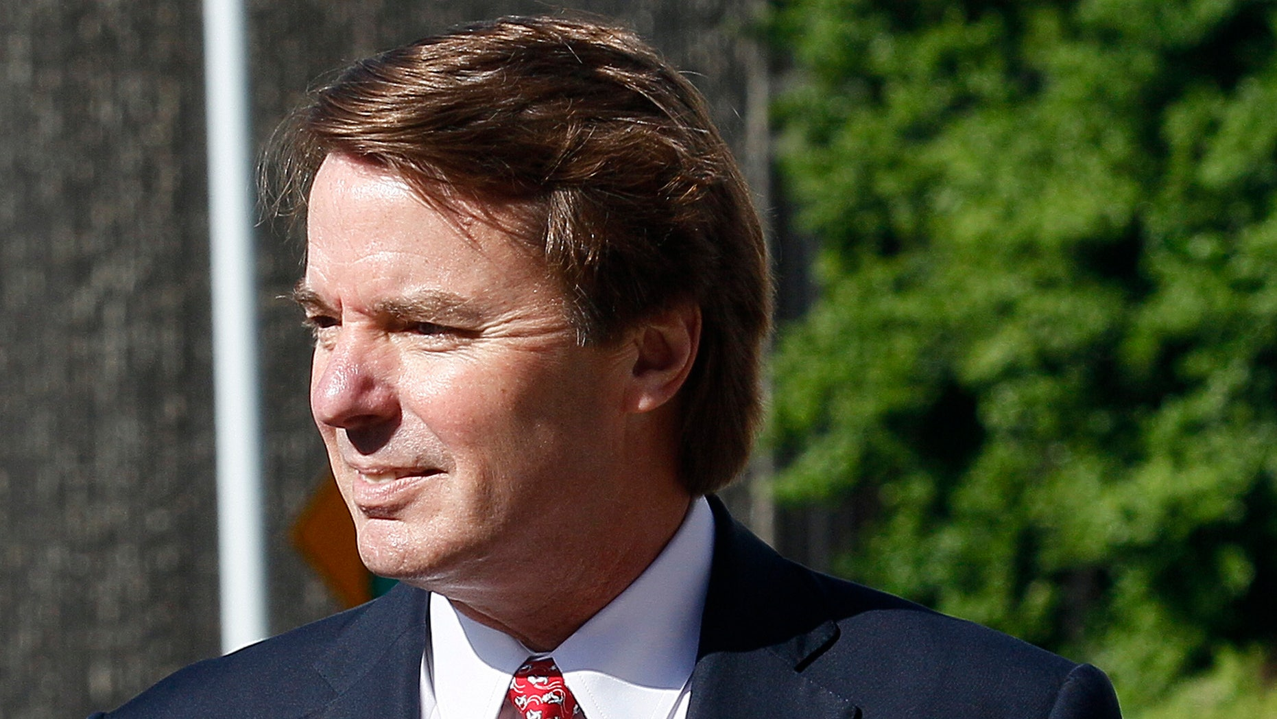May 10: Former presidential candidate and Sen. John Edwards arrives at a federal courthouse in Greensboro, N.C.