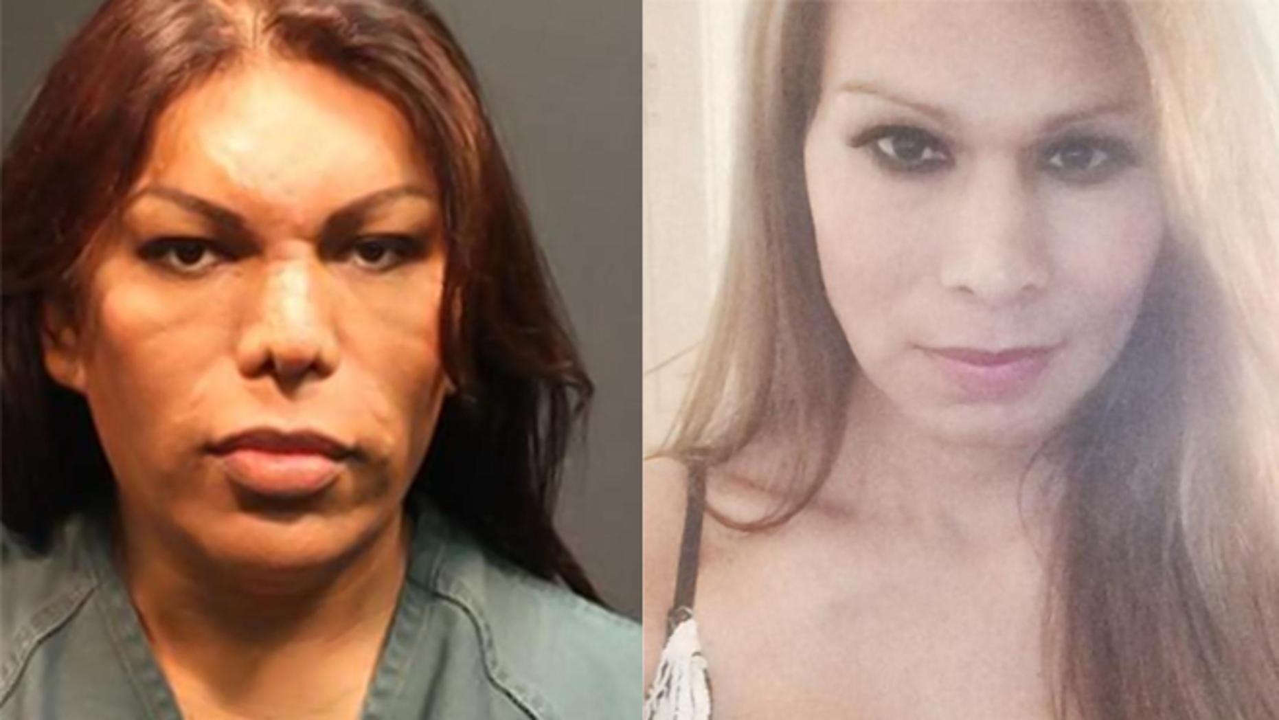 Liborio De La Luz Ramos (R) was arrested in connection with the death of transgender activist Felipe De La Riva (L).