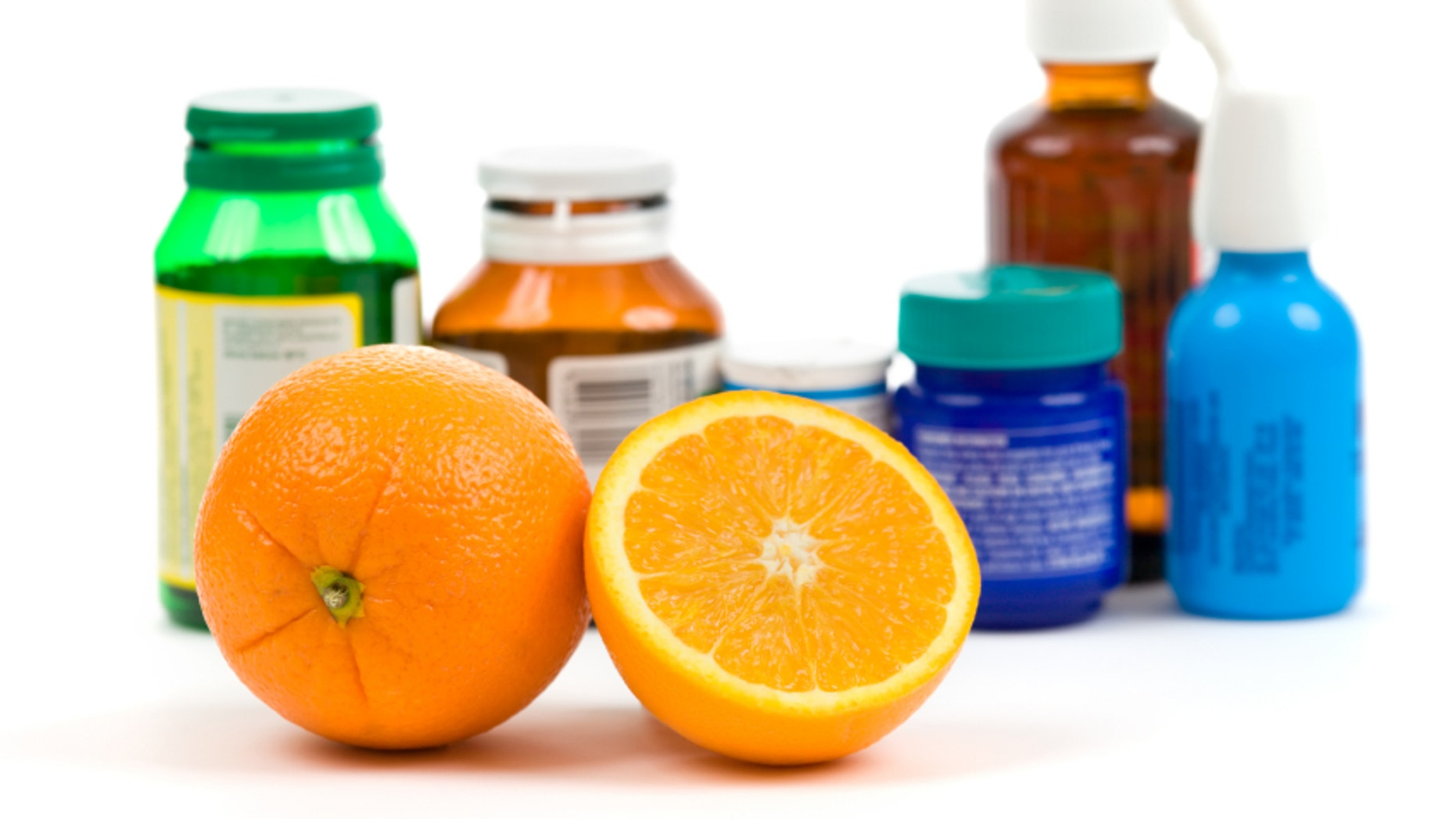 Orange as an alternative to medicine over white