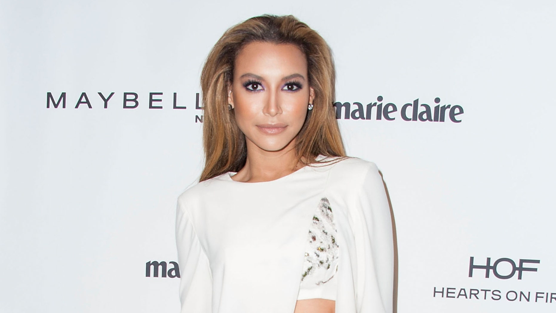 WEST HOLLYWOOD, CA - APRIL 08:  Actress Naya Rivera arrives at the Marie Claire's Fresh Faces Party at Soho House on April 8, 2014 in West Hollywood, California.  (Photo by Valerie Macon/Getty Images)