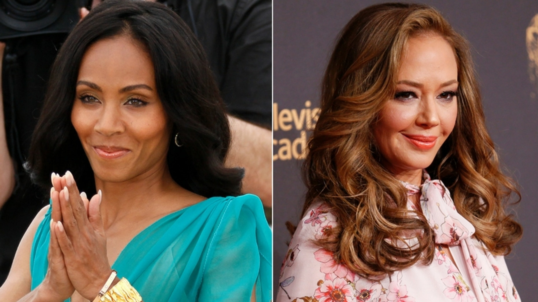 Jada Pinkett Smith denied she was a Scientologist after Leah Remini claimed the actress had been practicing the religion.