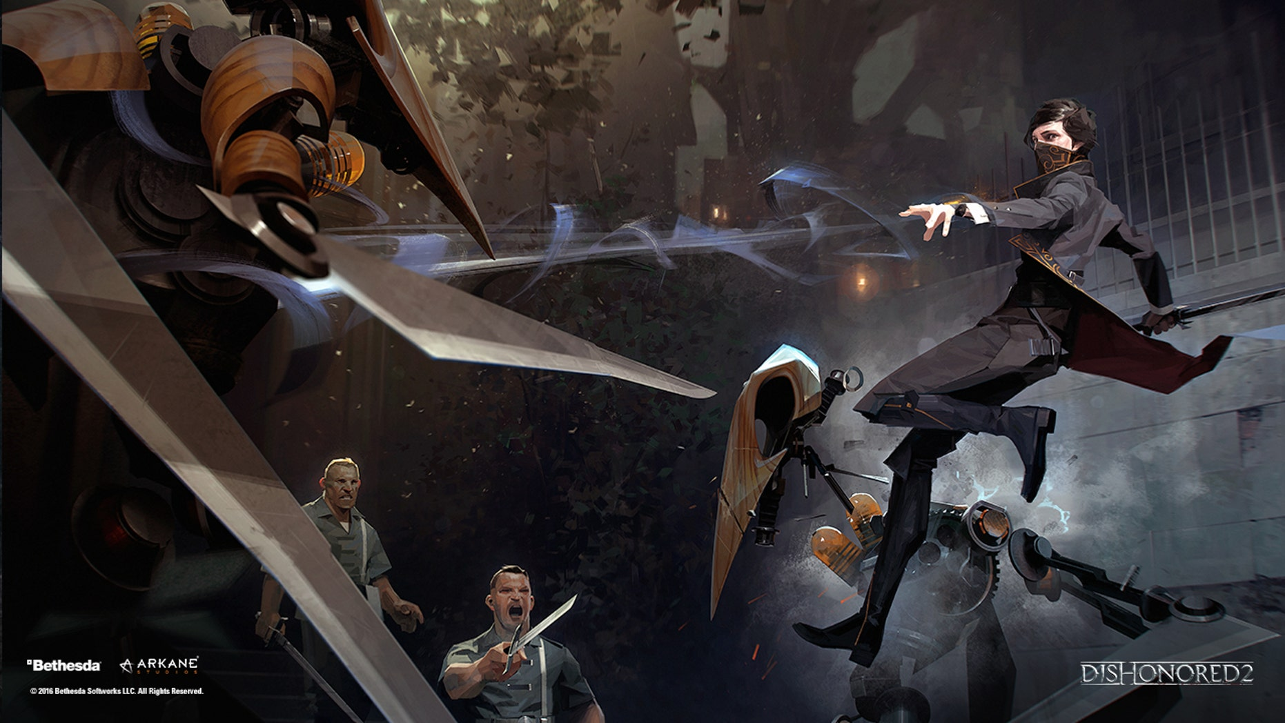 """Dishonored 2"" screenshot (Bethesda Softworks/Arkane Studios)."