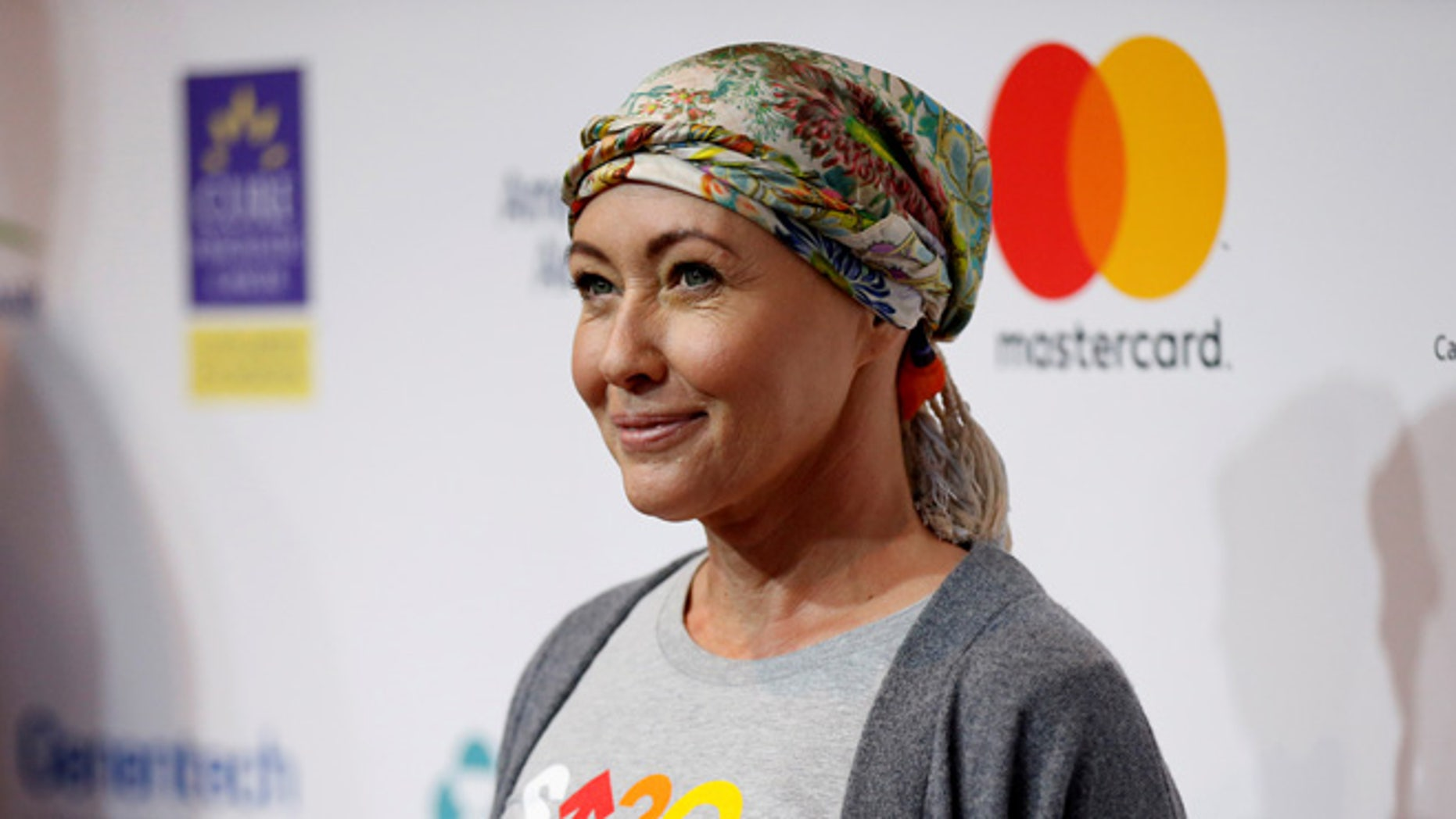 Actress Shannen Doherty arrives for a Stand Up To Cancer (SU2C) fundraising event at Walt Disney Concert Hall in Los Angeles, California U.S., September 9, 2016.   REUTERS/Mario Anzuoni - RTSN2EZ