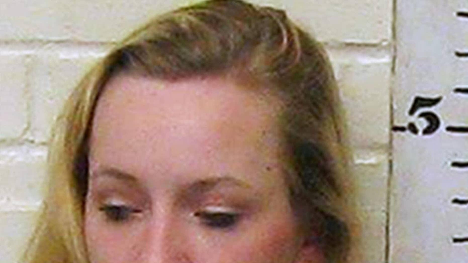 This photo provided by the Denison Police Department in Denison, Texas, shows Breana Harmon Talbott. Authorities say Talbott is facing charges after falsely reporting she was kidnapped and sexually assaulted by three black males behind a church in Denison on March 8, 2017. Police say she confessed to the hoax on Tuesday, March 21. (Denison Police Department via AP)