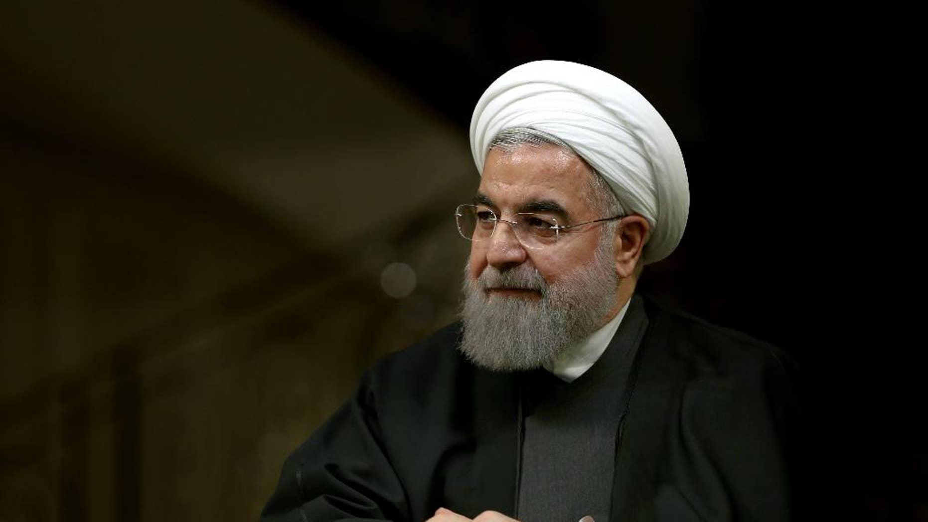 Iranian President Hassan Rouhani on Monday.