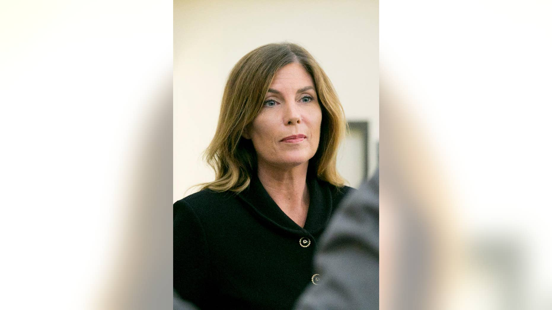 Pennsylvania Attorney General Kathleen Kane leaves court during her trial in 2016. (Jessica Griffin/The Philadelphia Inquirer via AP, Pool)