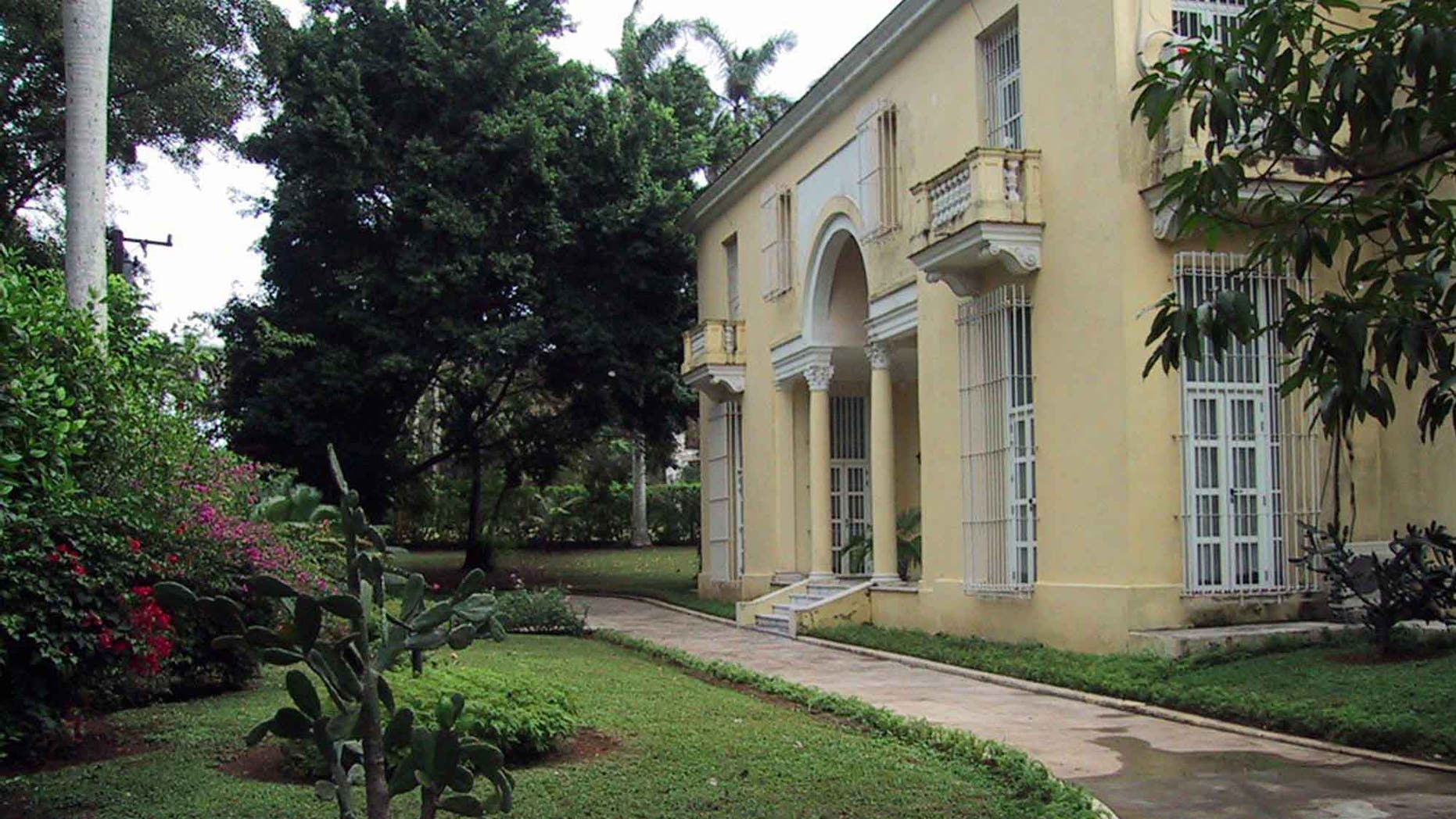 Residence owned by American Roy Schechter, confiscated after the Cuban Revolution in 1959.