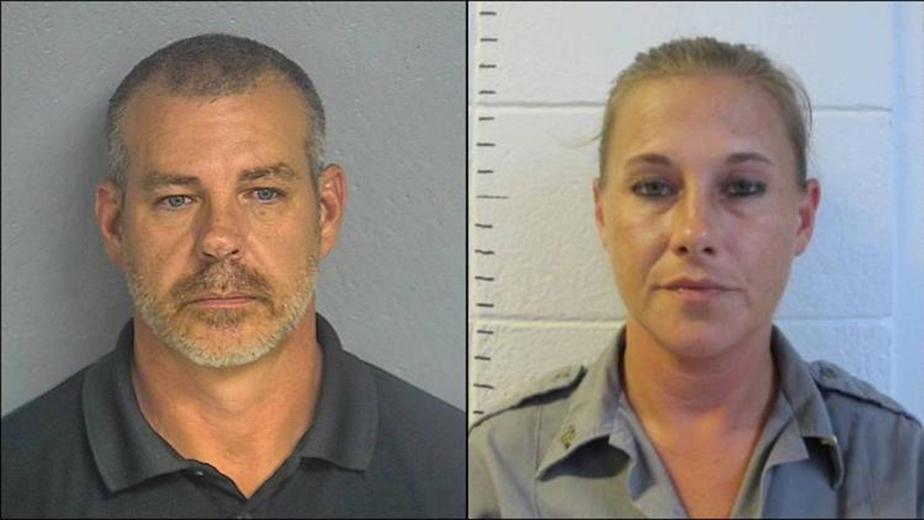 Former Texas County Sheriff James Sigman, 48, and Lt. Deputy Jennifer Tomaszewski, 38, were indicted on multiple felonies.