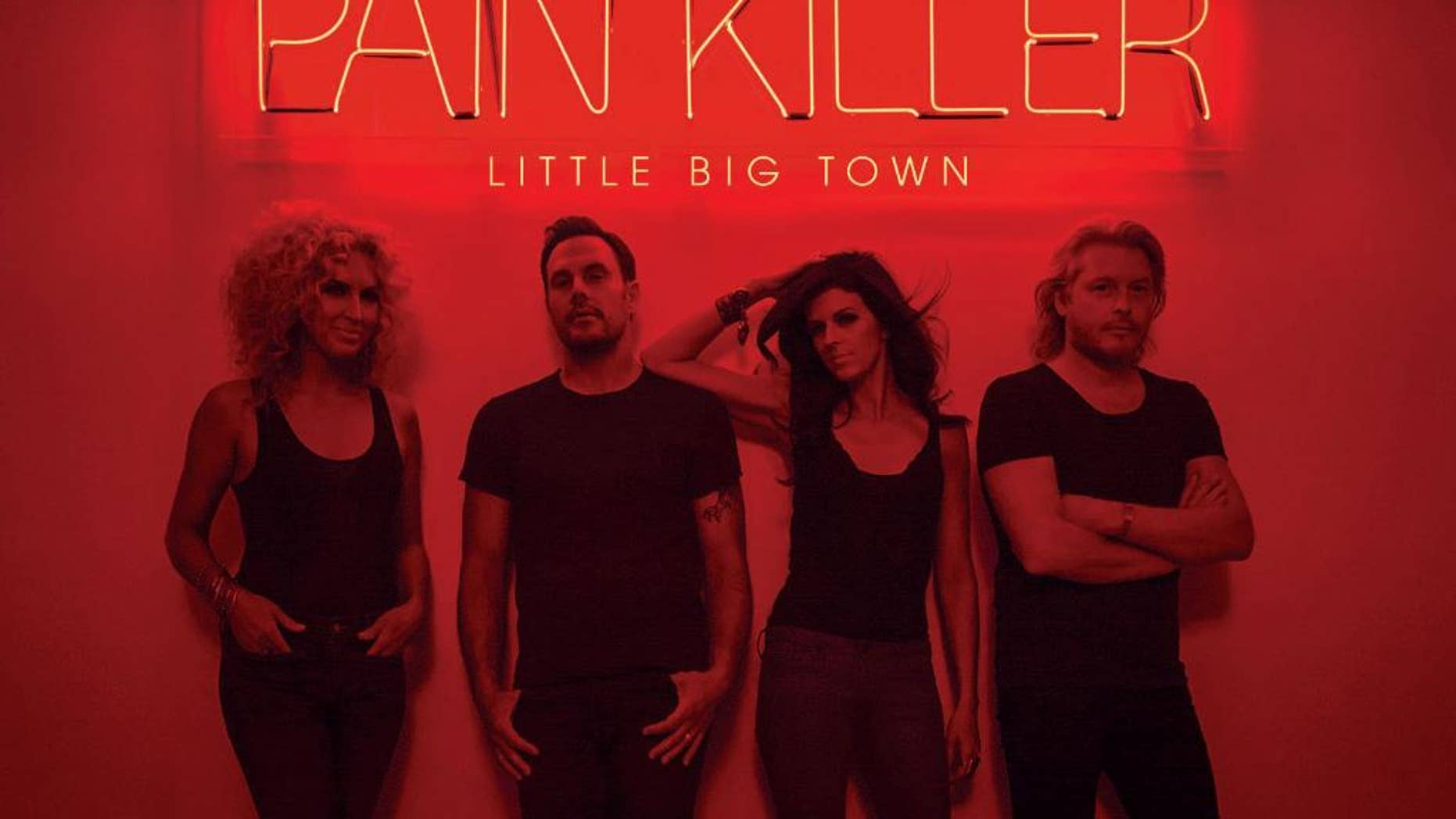 """This CD cover image released by Capitol Nashville shows """"Pain Killer,"""" by Little Big Town. (AP Photo/Capitol Nashville)"""