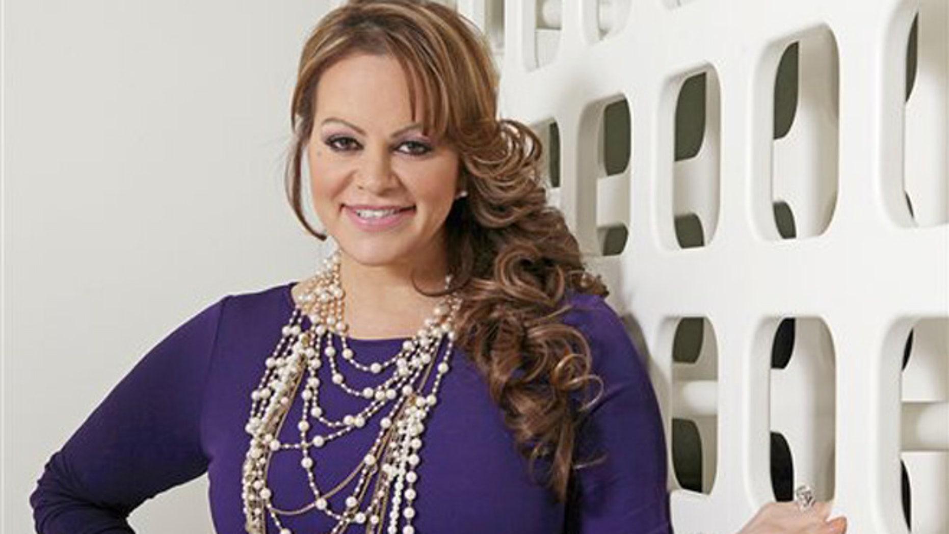 Mexican-American singer Jenni Rivera in a March 8, 2012, file photo.