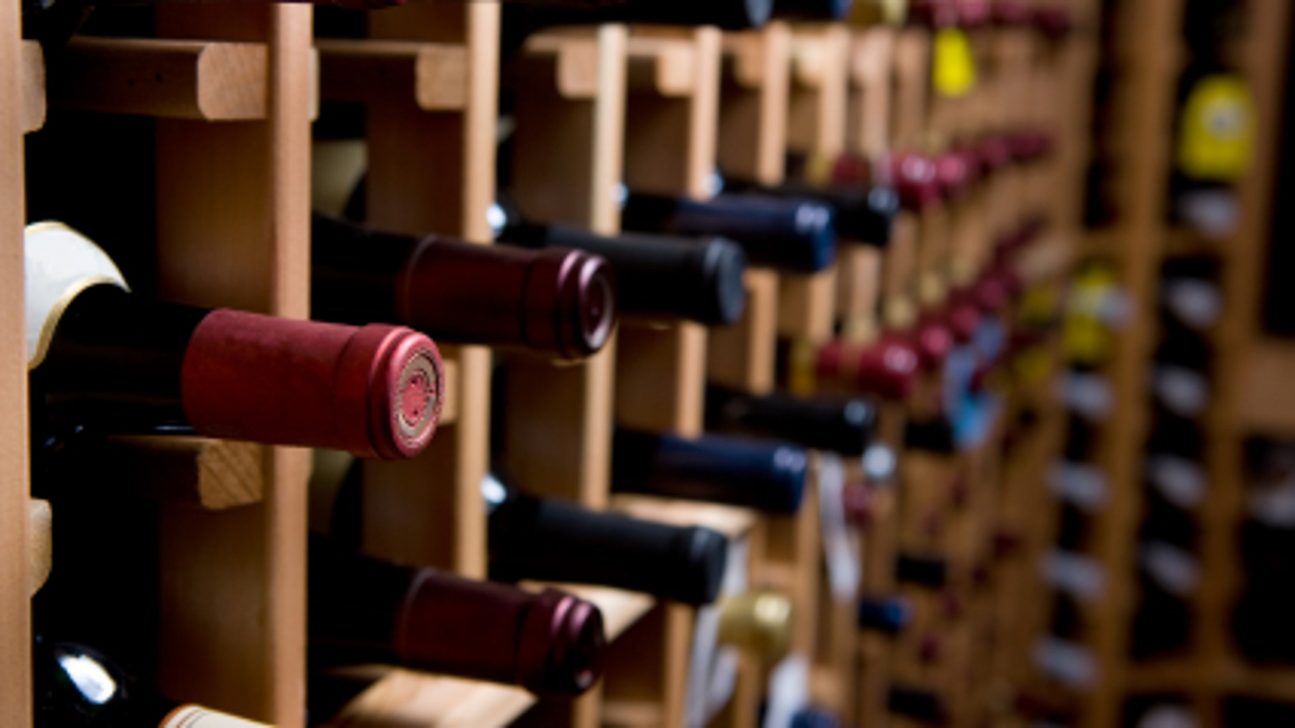 """55 degrees is widely considered the """"sweet spot"""" for storing wine,"""