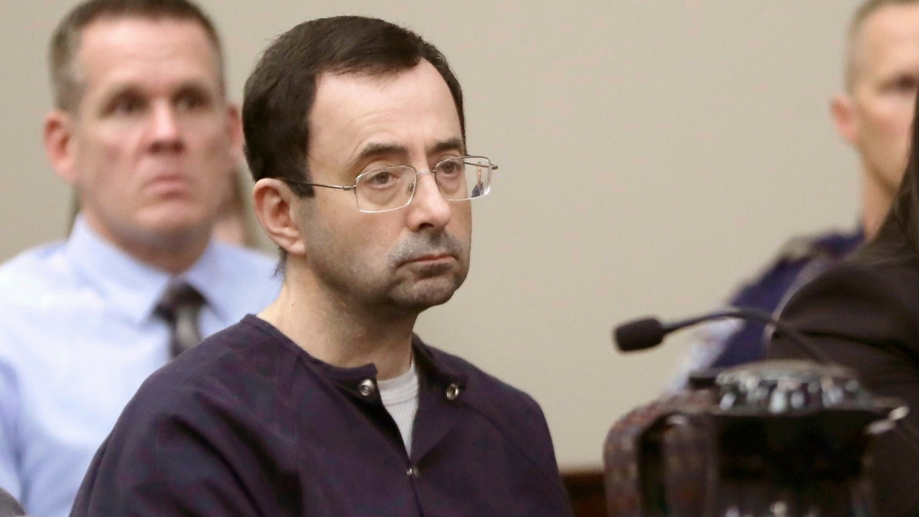 Michigan State University said Thursday, Aug. 30, 2018, that the NCAA has cleared it of any rules violations in the Larry Nassar sexual-assault scandal.