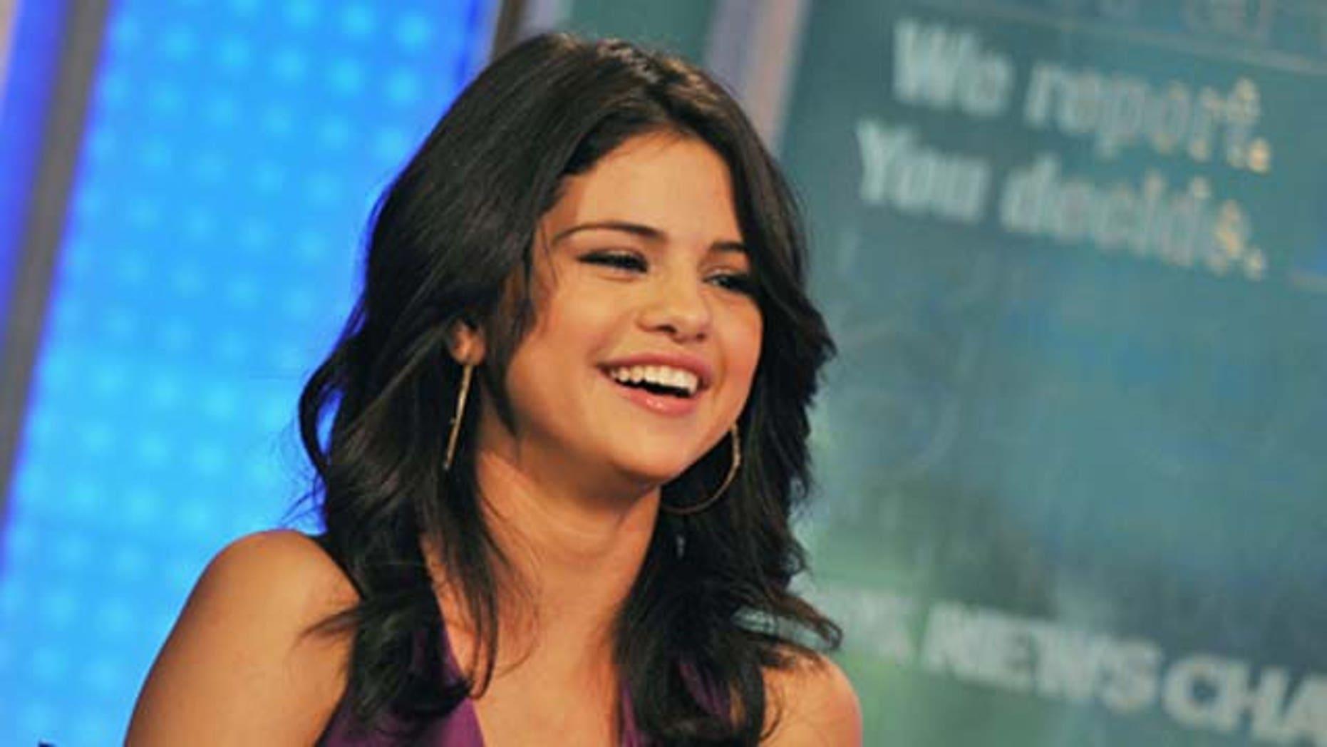 June 29, 2011: Singer/actress Selena Gomez visits 'FOX & Friends' at FOX Studios in New York City.