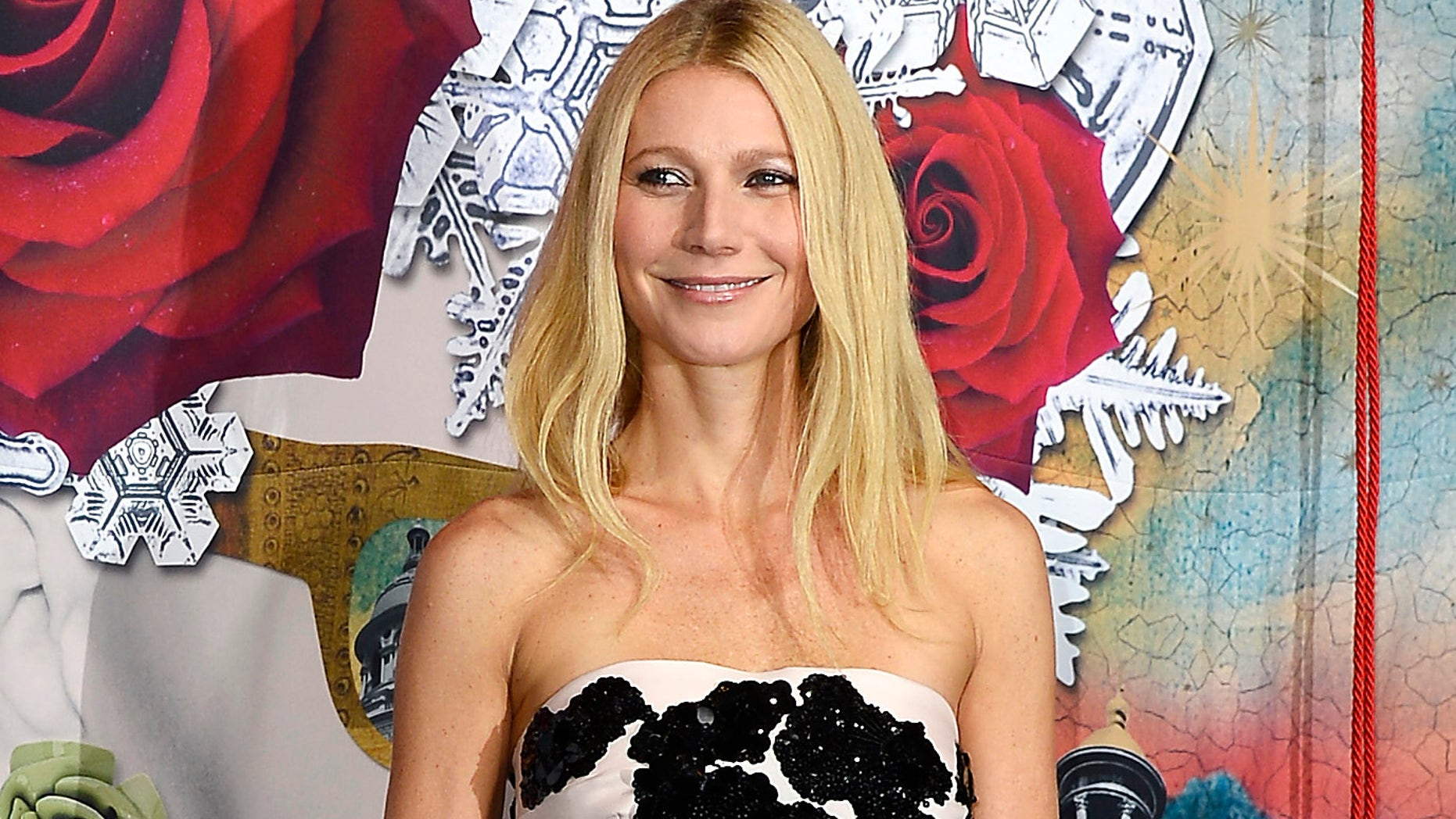 Gwyneth Paltrow launches the Printemps Christmas Decorations Inauguration at Printemps Haussmann on November 7, 2013 in Paris, France.