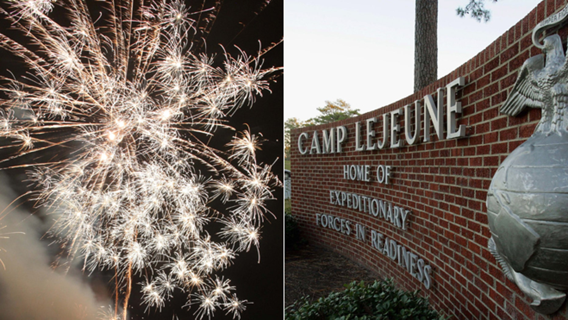 The Fourth of July won't have a patriotic boom in the skies over a number of the nation's military bases, where budget cuts and furloughed workers also mean furloughed fireworks.