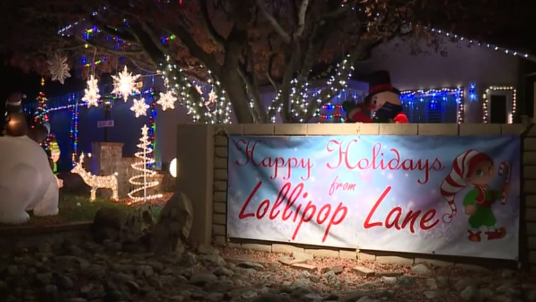 A family in California was shamed in an anonymous letter for not participating in their neighborhood's tradition of elaborate decorating.