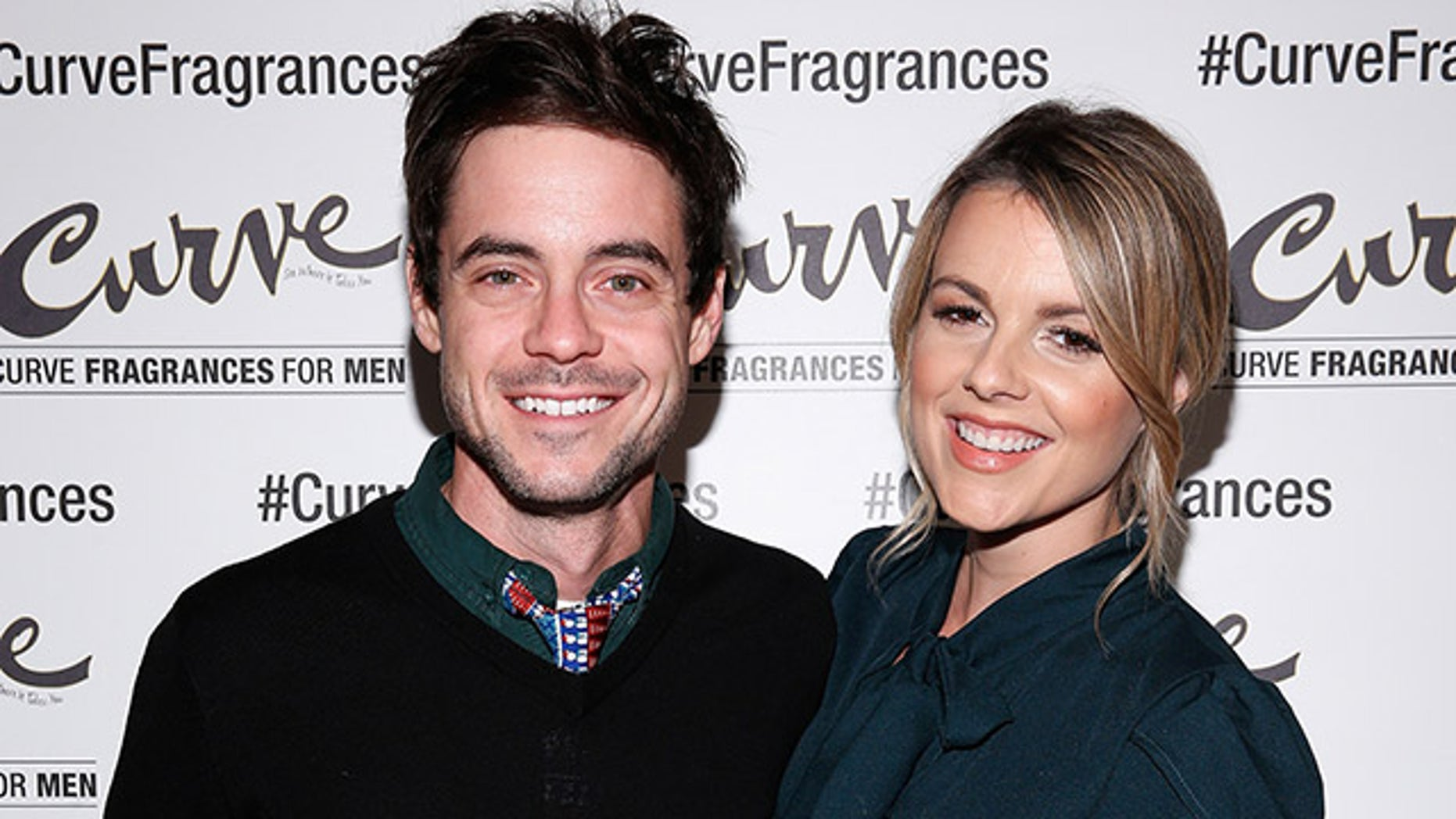 """Former """"Bachelorette"""" Ali Fedotowsky, right, revealed that she and husband Kevin Manno haven't slept in they had their second child."""