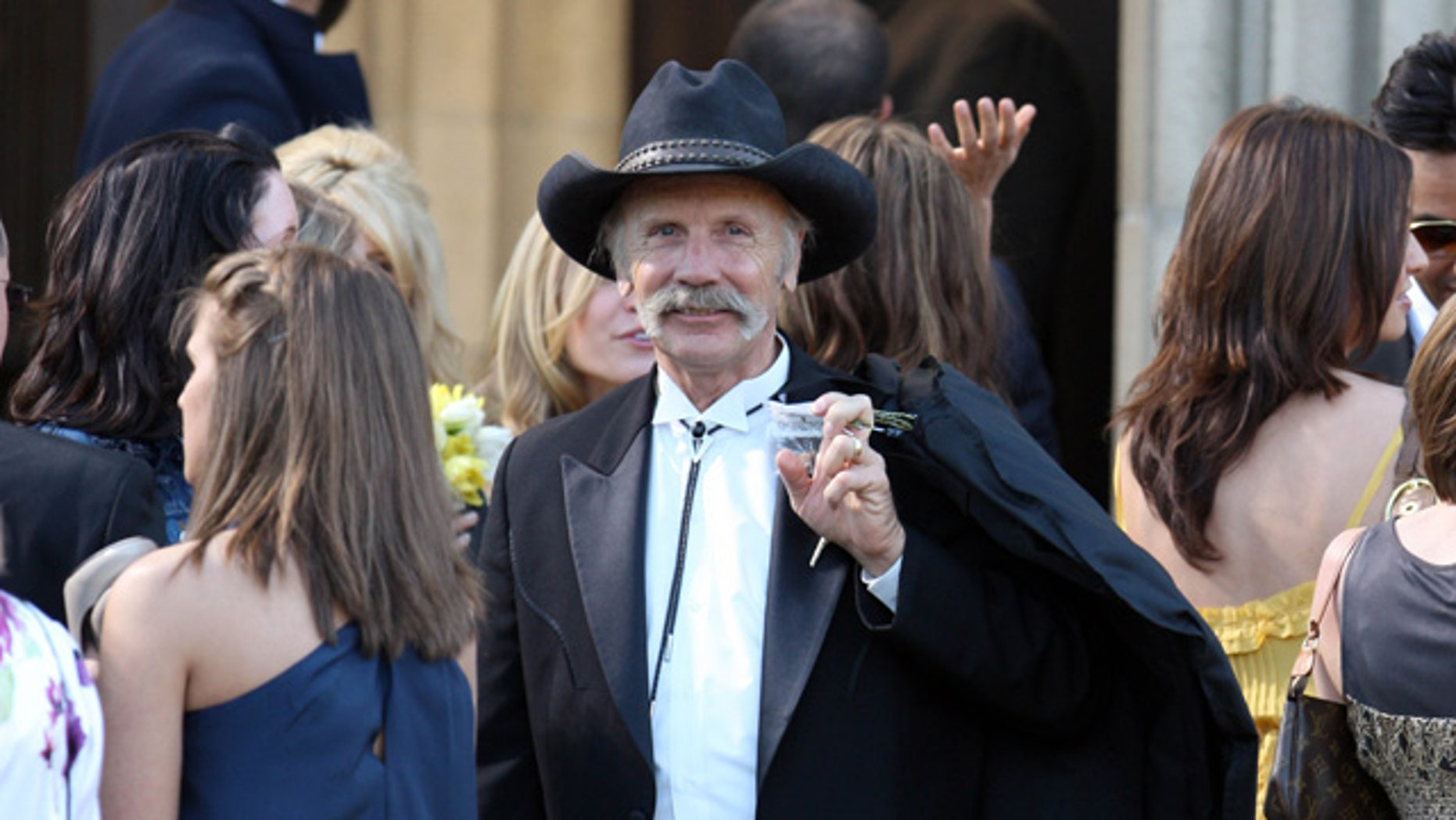 April 25, 2009. Heidi Montag's father Bob Montag at his daughter's wedding.